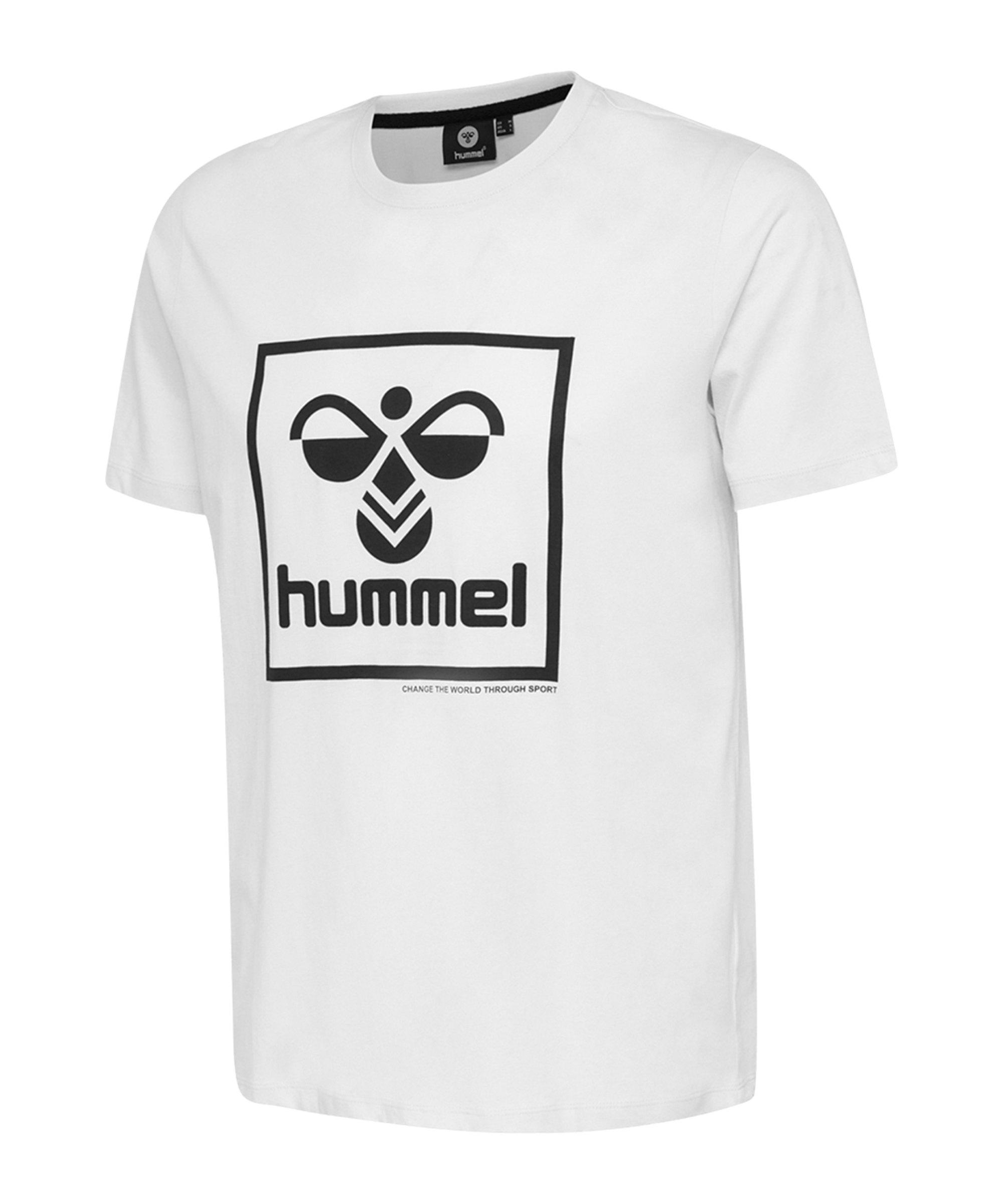 Hummel Isam T-shirt Weiss F9001 - weiss