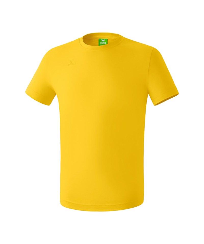 Erima Teamsport T-Shirt Kids Gelb - gelb