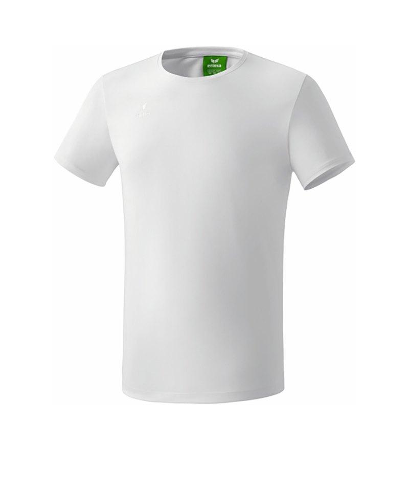 Erima T-Shirt Style Weiss - weiss