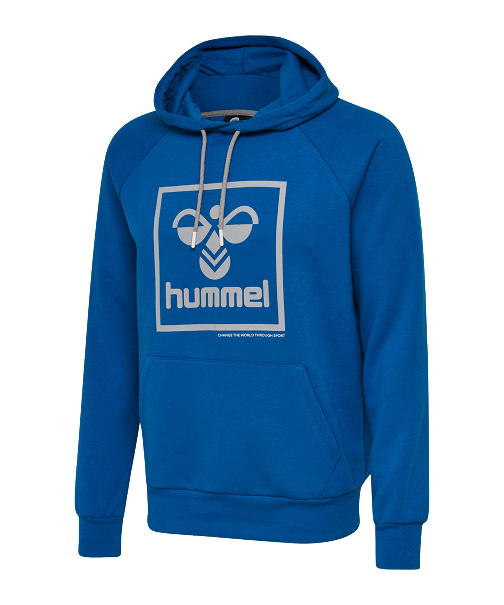 Hummel Isam Hoody Blau F8370 - blau