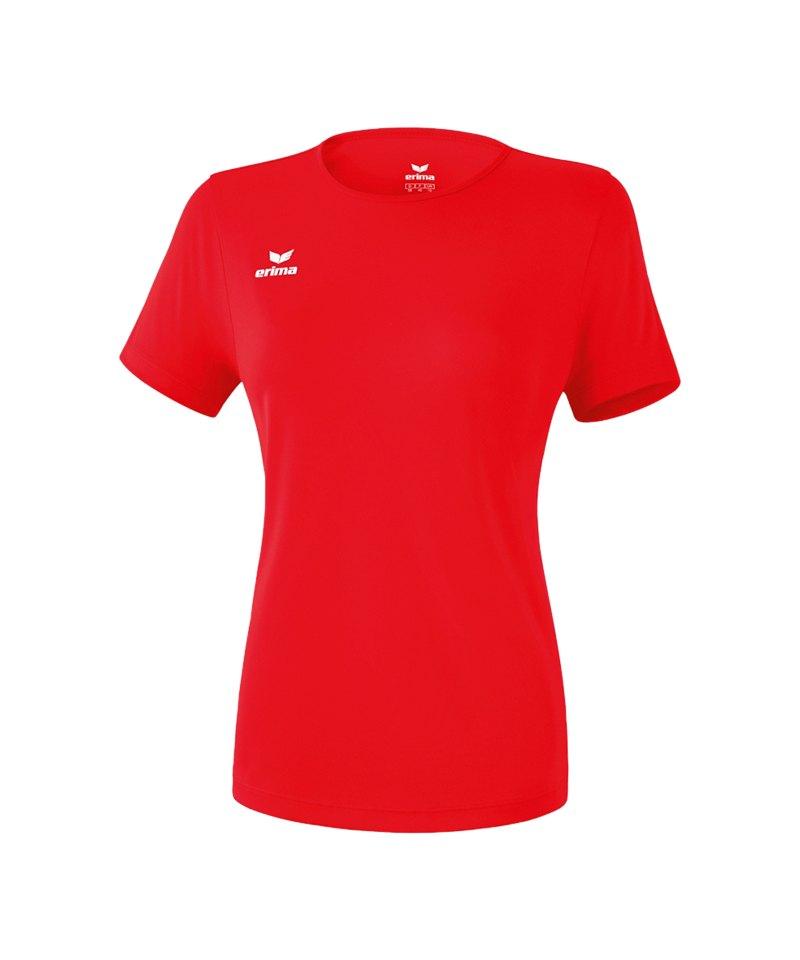 Erima Teamsport T-Shirt Function Damen Rot - rot