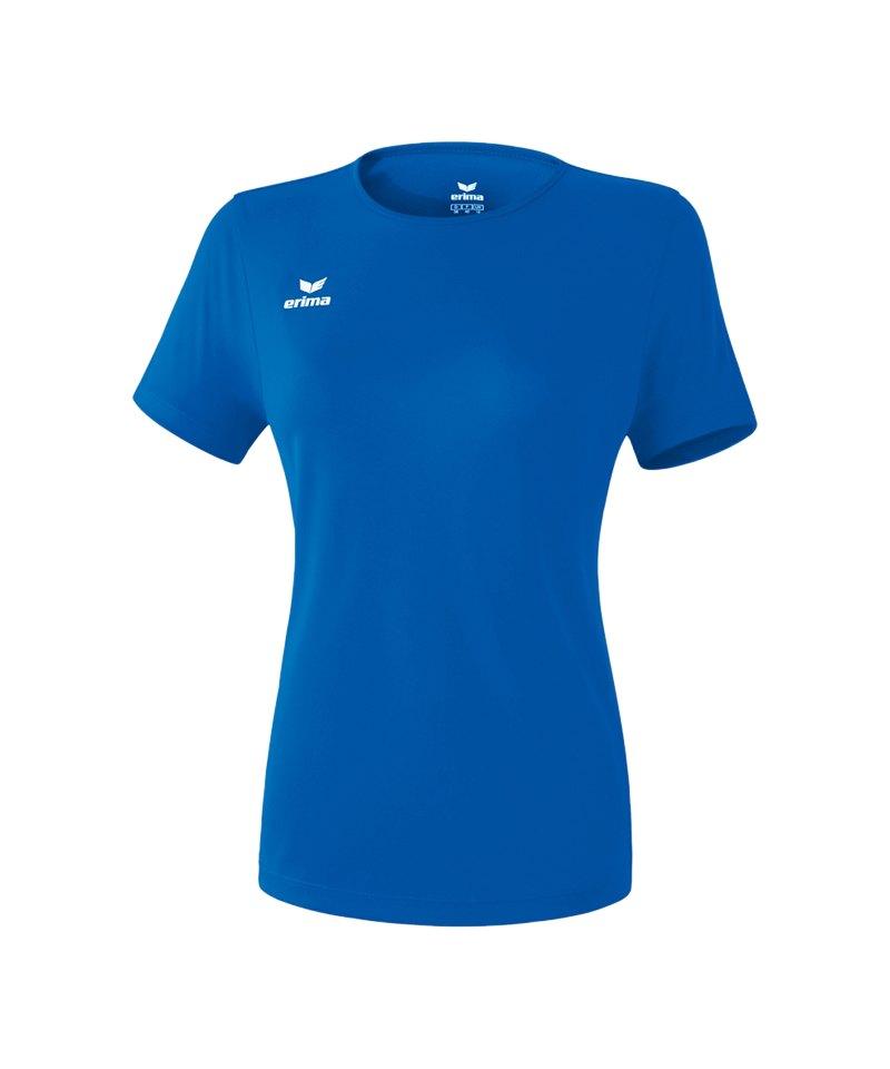 Erima Teamsport T-Shirt Function Damen Blau - blau