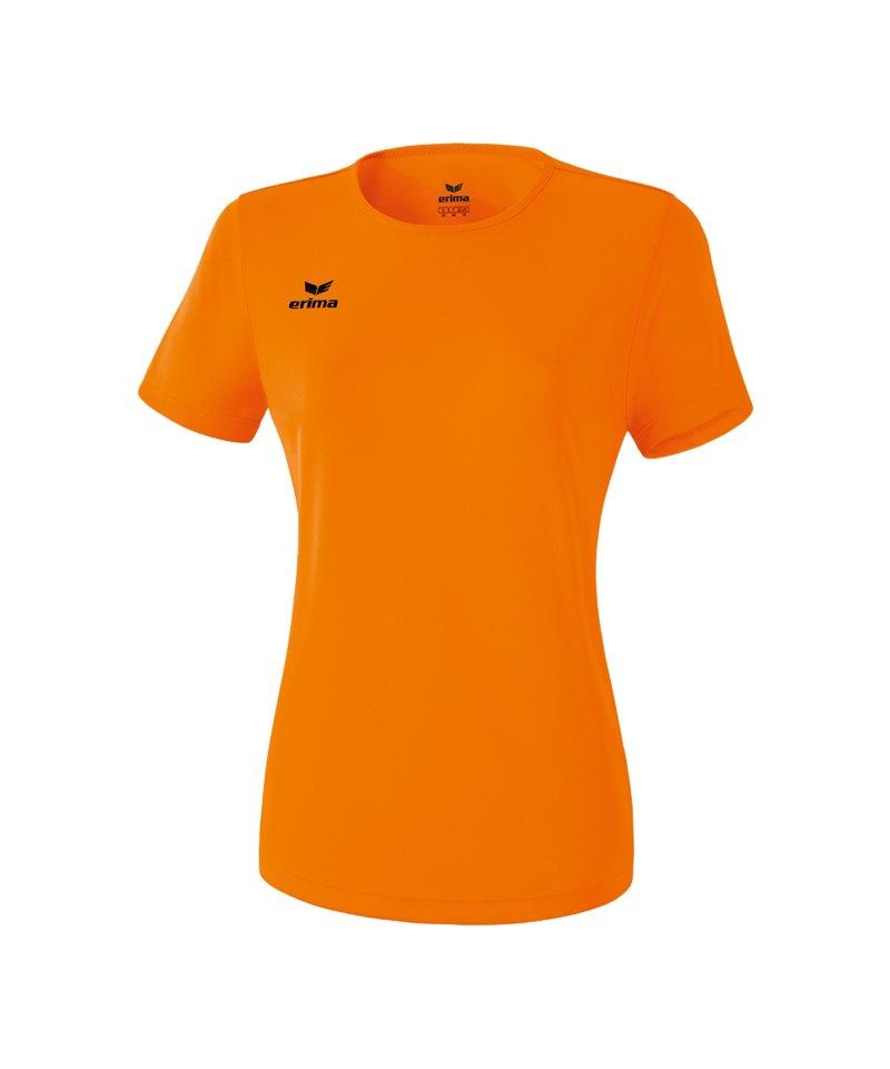 Erima Teamsport T-Shirt Function Damen Orange - orange