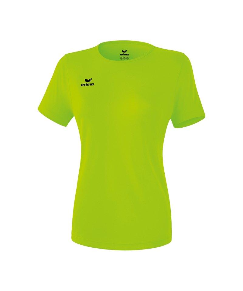 Erima Teamsport T-Shirt Function Damen Hellgrün2 - gruen