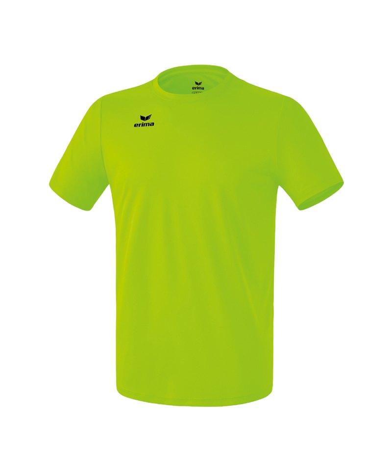 Erima Teamsport T-Shirt Function Kids Hellgrün2 - gruen
