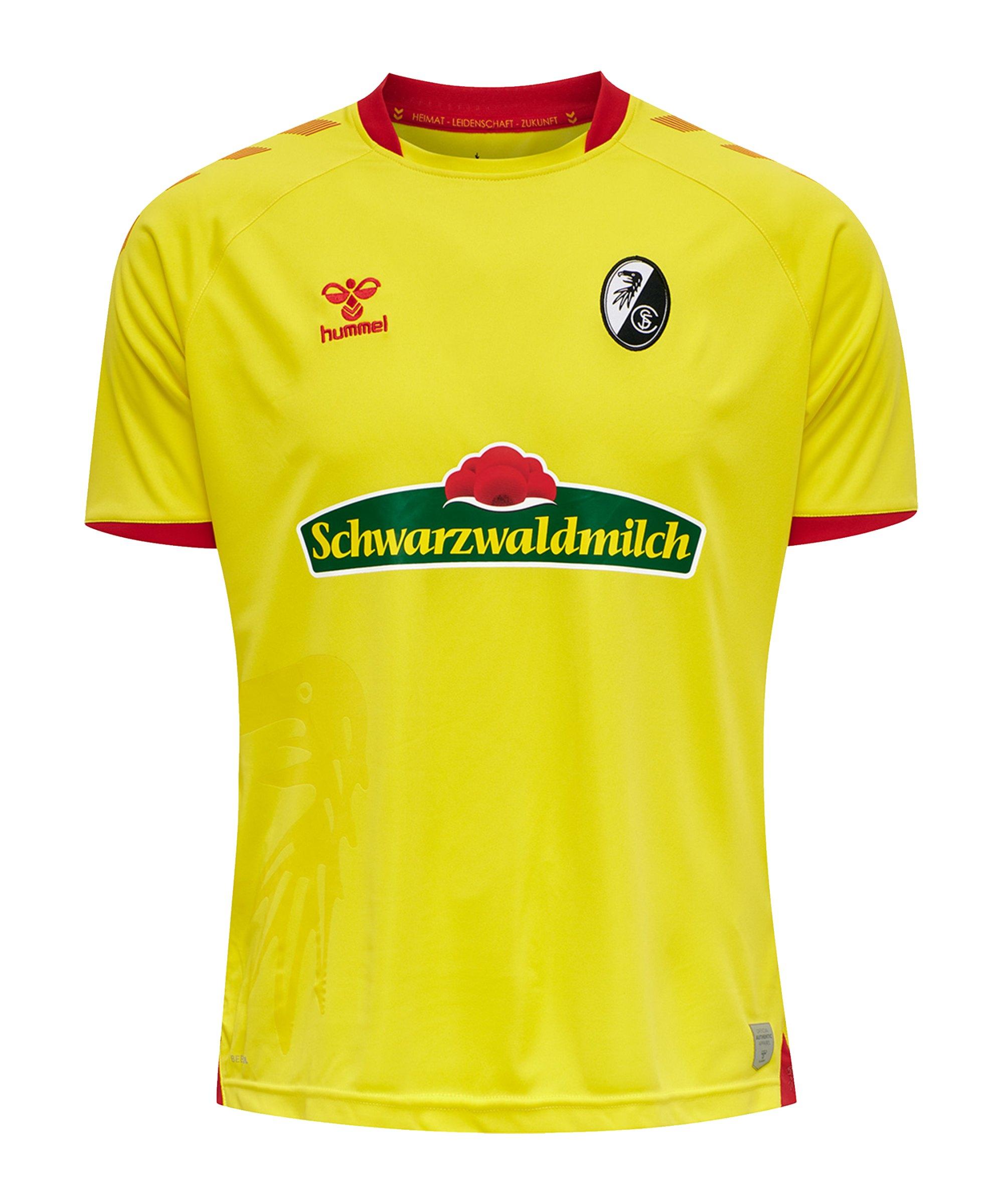 Hummel SC Freiburg Trikot 3rd 2020/2021 Kids Gelb F5080 - gelb