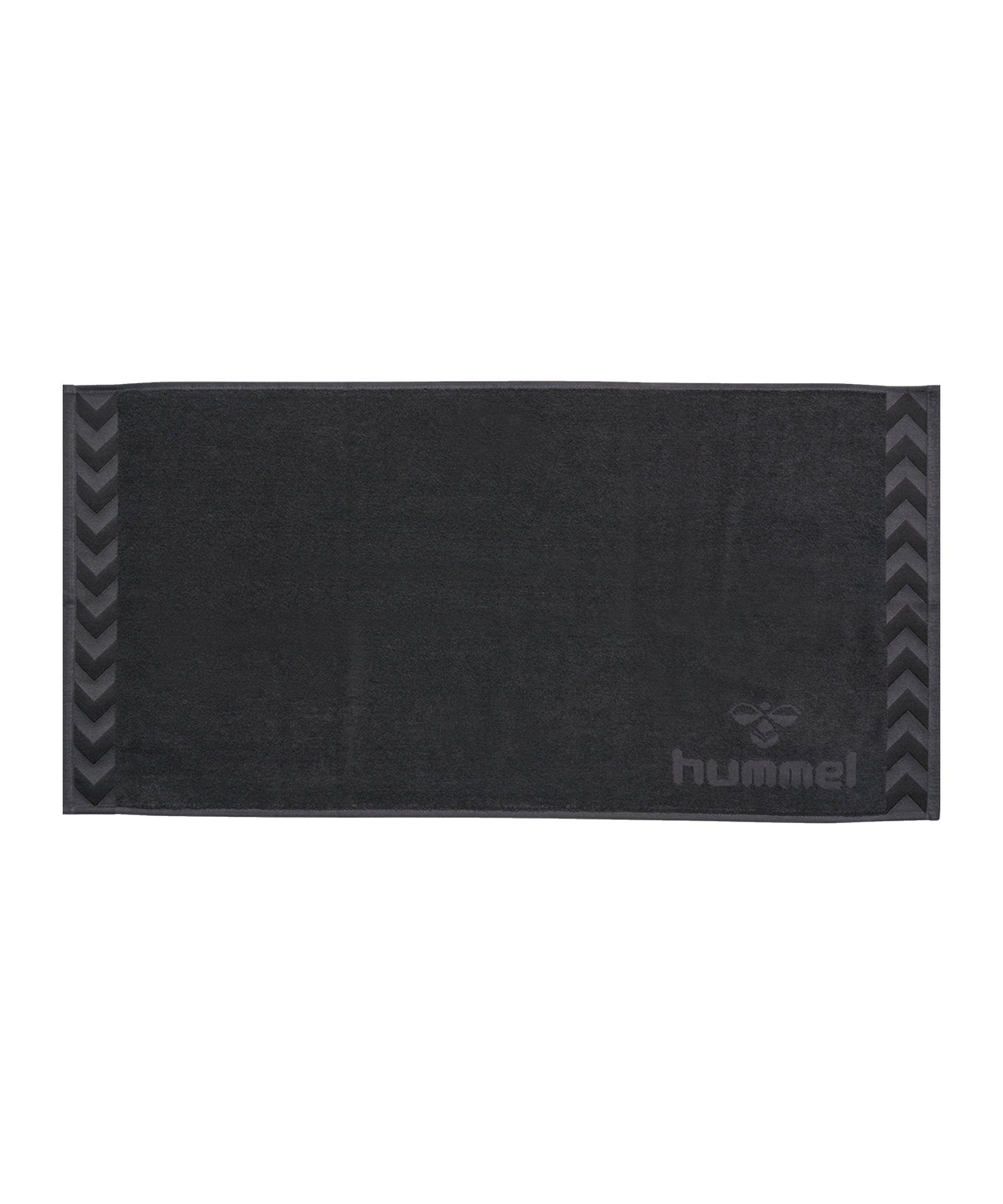 Hummel Old School Small Towel Handtuch F1525 - grau