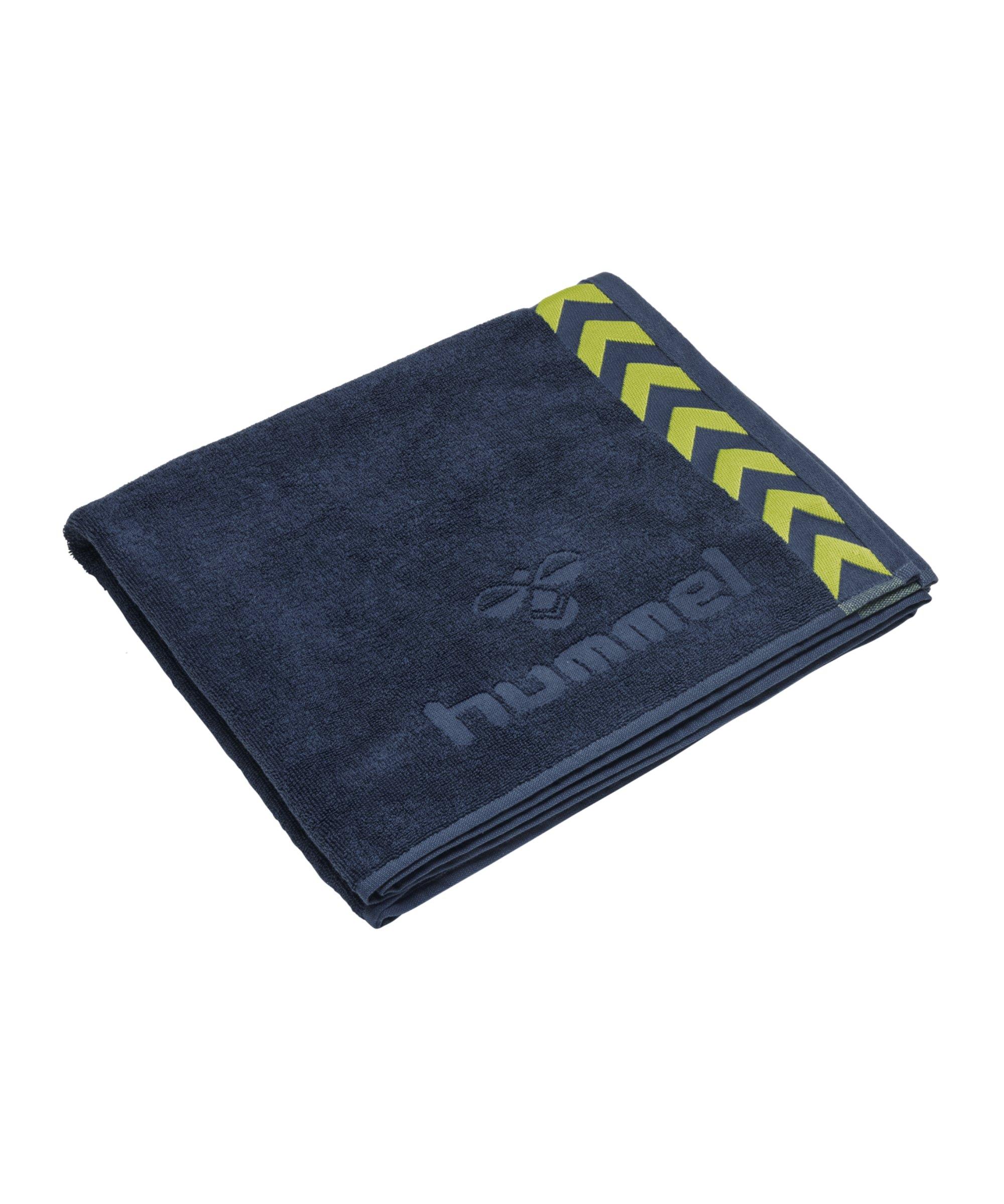 Hummel Large Towel Handtuch Blau F6616 - blau