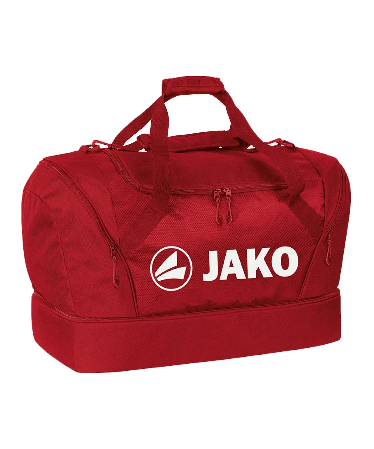 JAKO Sporttasche mit Bodenfach Senior Rot F11 - rot