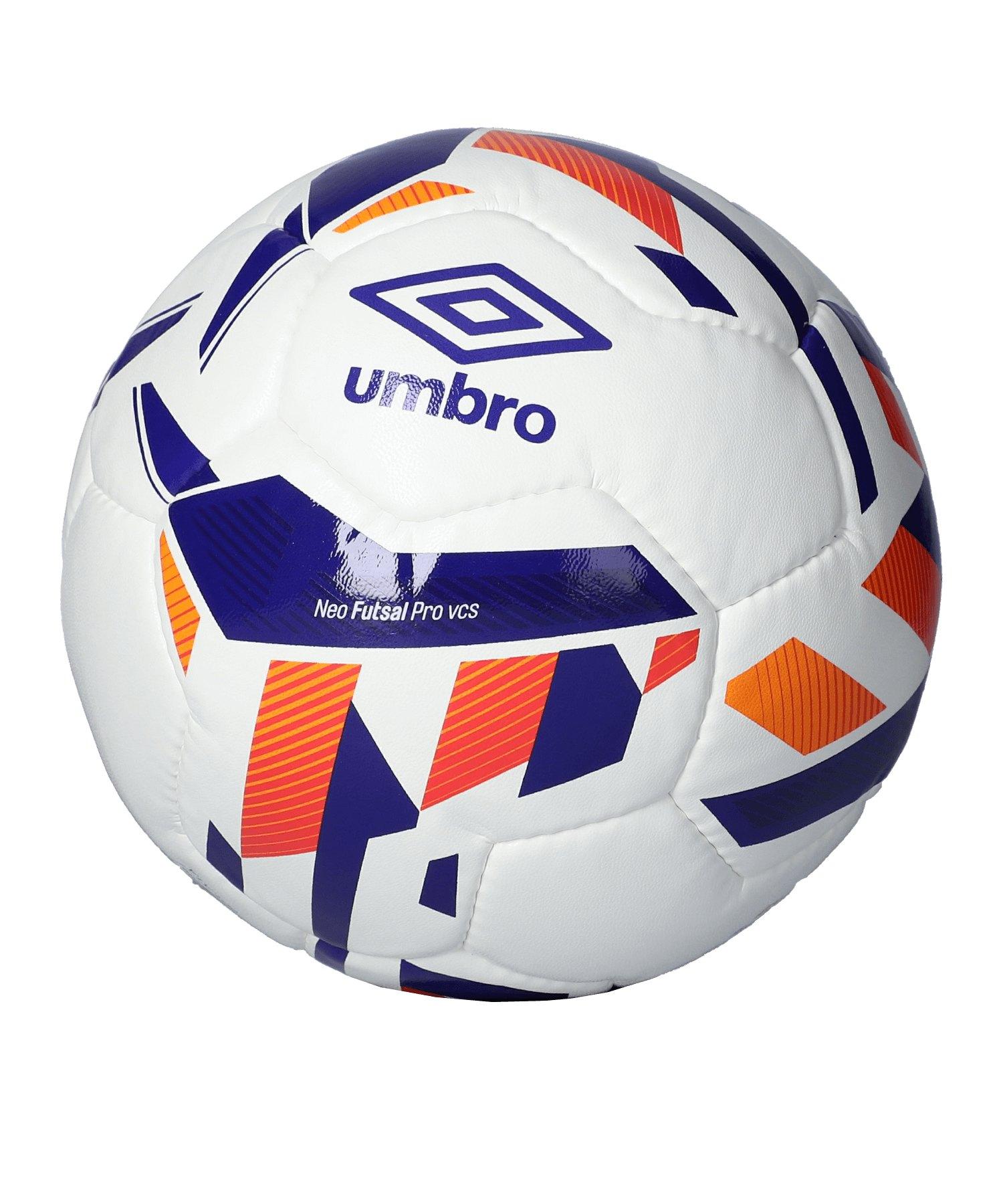 Umbro Neo Futsal Pro Trainingsball Weiss FZM - weiss