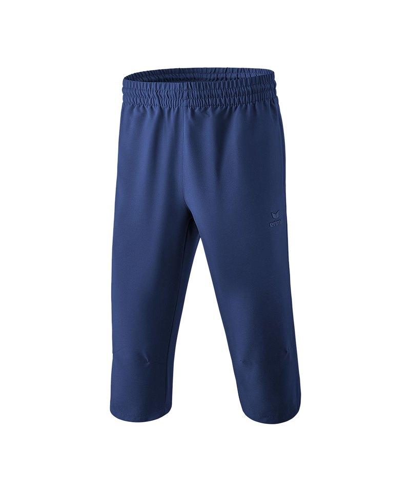 Erima Basics 3/4 Hose Kids Blau - blau