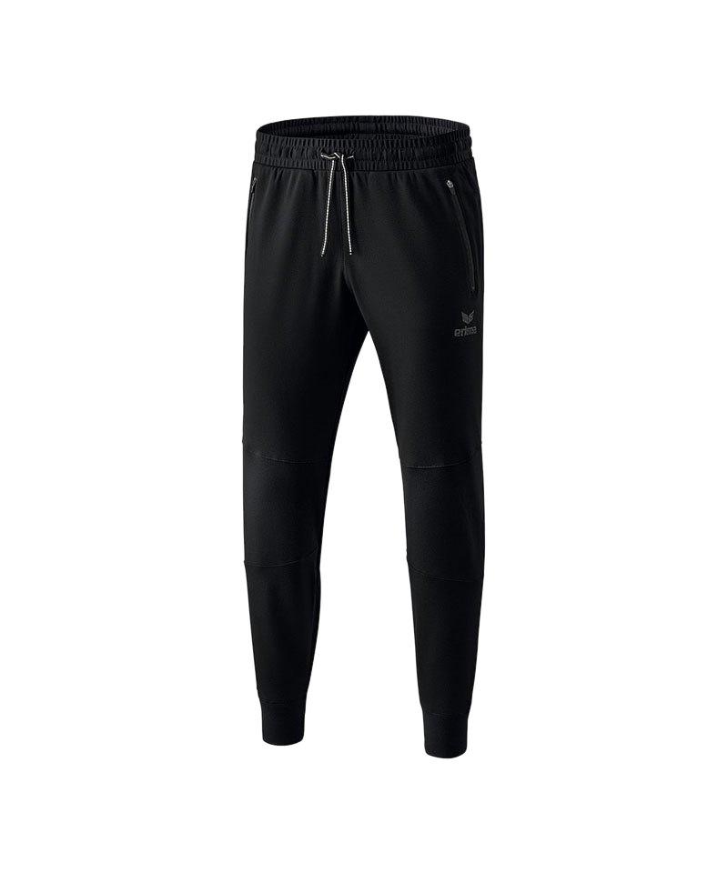 Erima Essential Sweathose Pant Kids Schwarz - schwarz