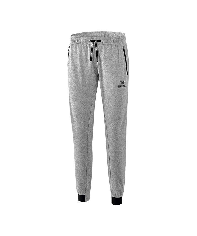 Erima Essential Sweathose Pant Damen Grau - grau