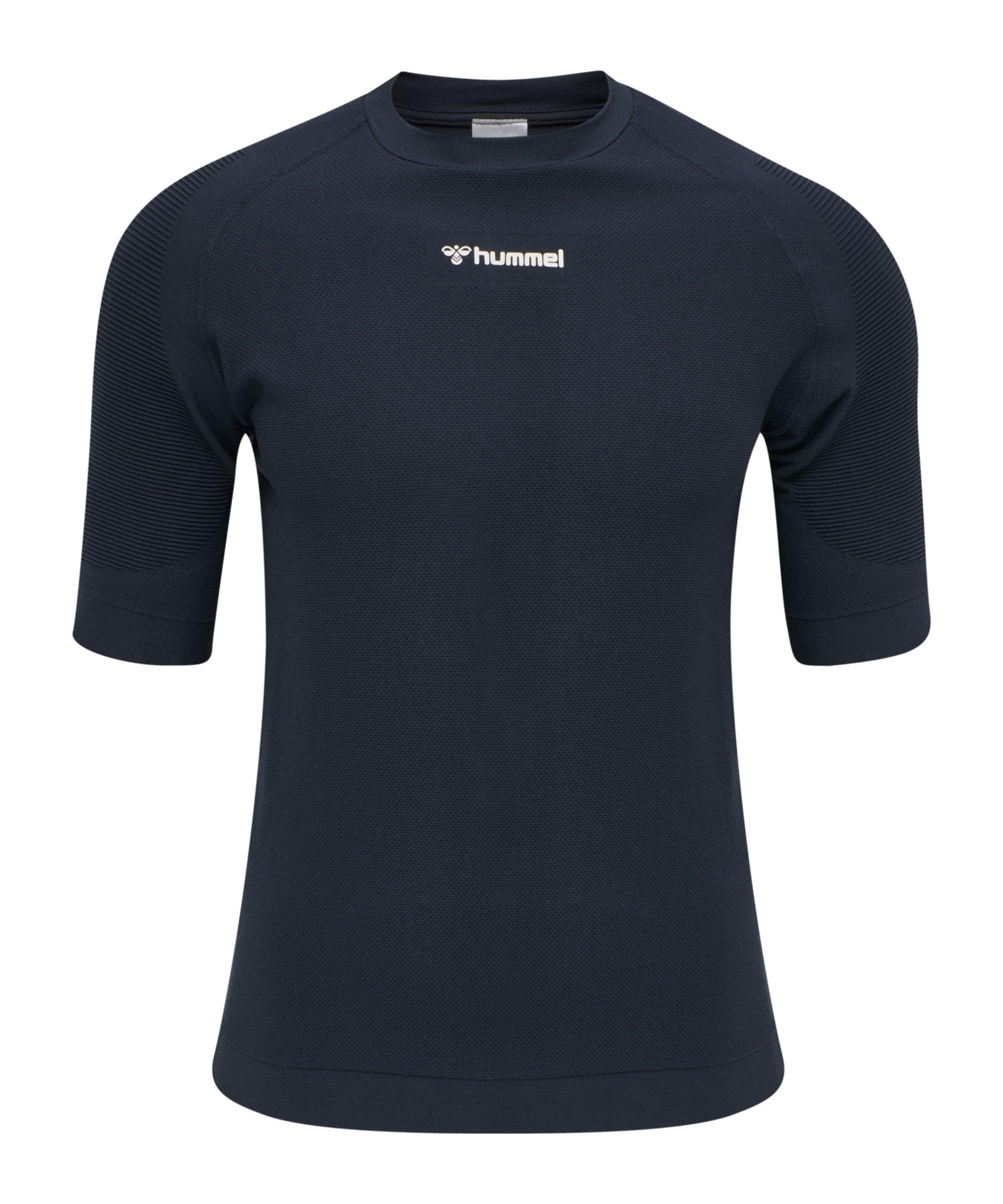 Hummel Cube Seamless T-Shirt Blau F7429 - blau