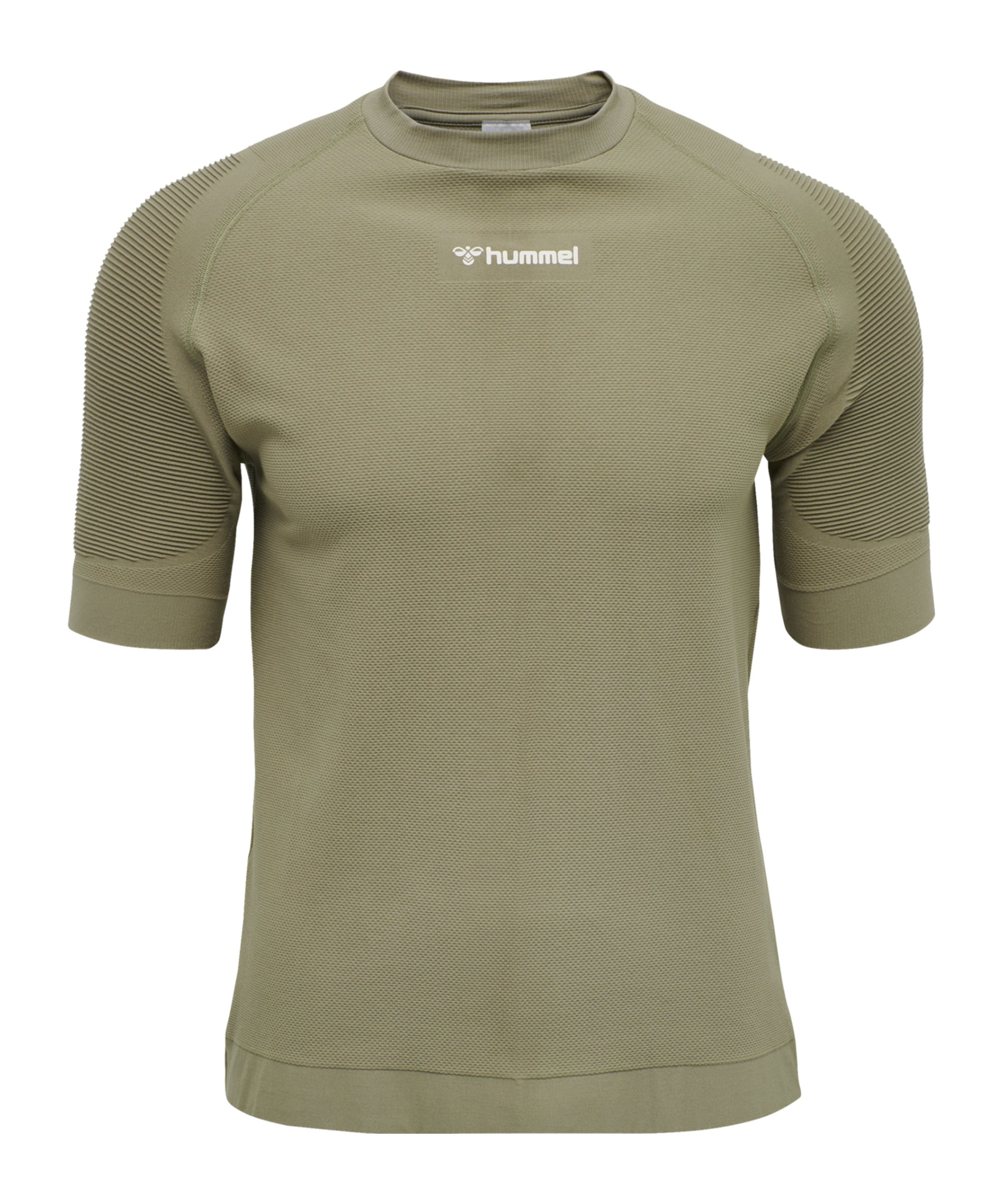 Hummel Cube Seamless T-Shirt Grün F8062 - gruen