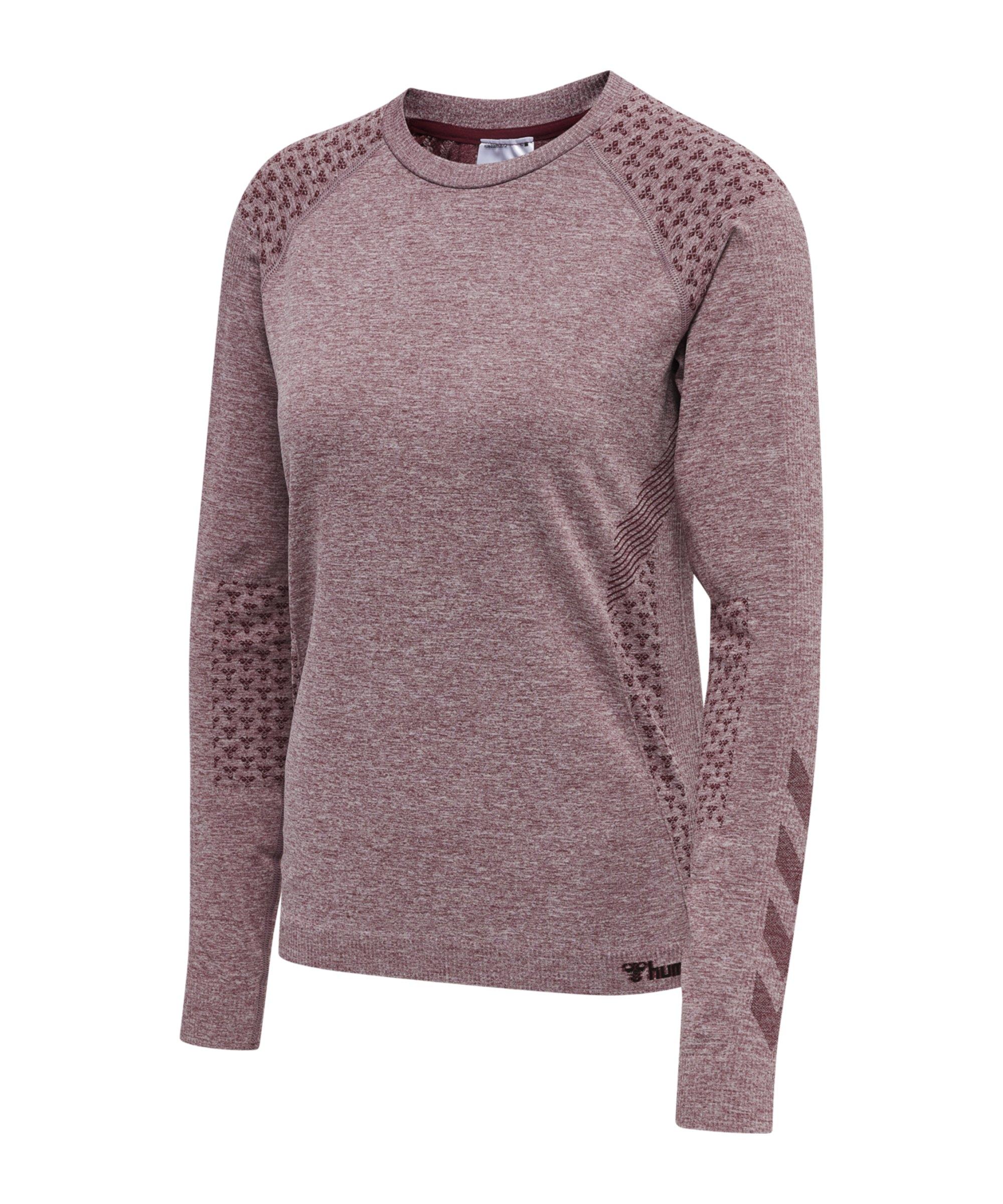 Hummel hmlci Seamless Sweatshirt Damen F4770 - rosa