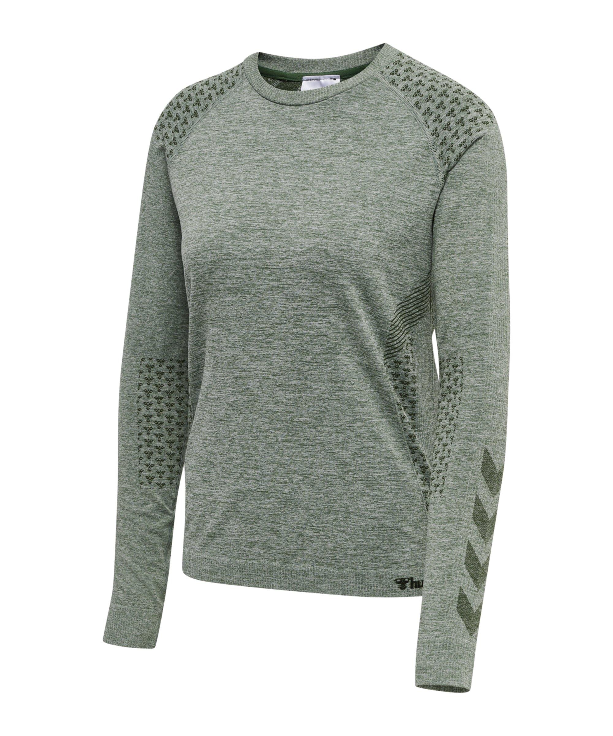 Hummel hmlci Seamless Sweatshirt Damen F6361 - gruen
