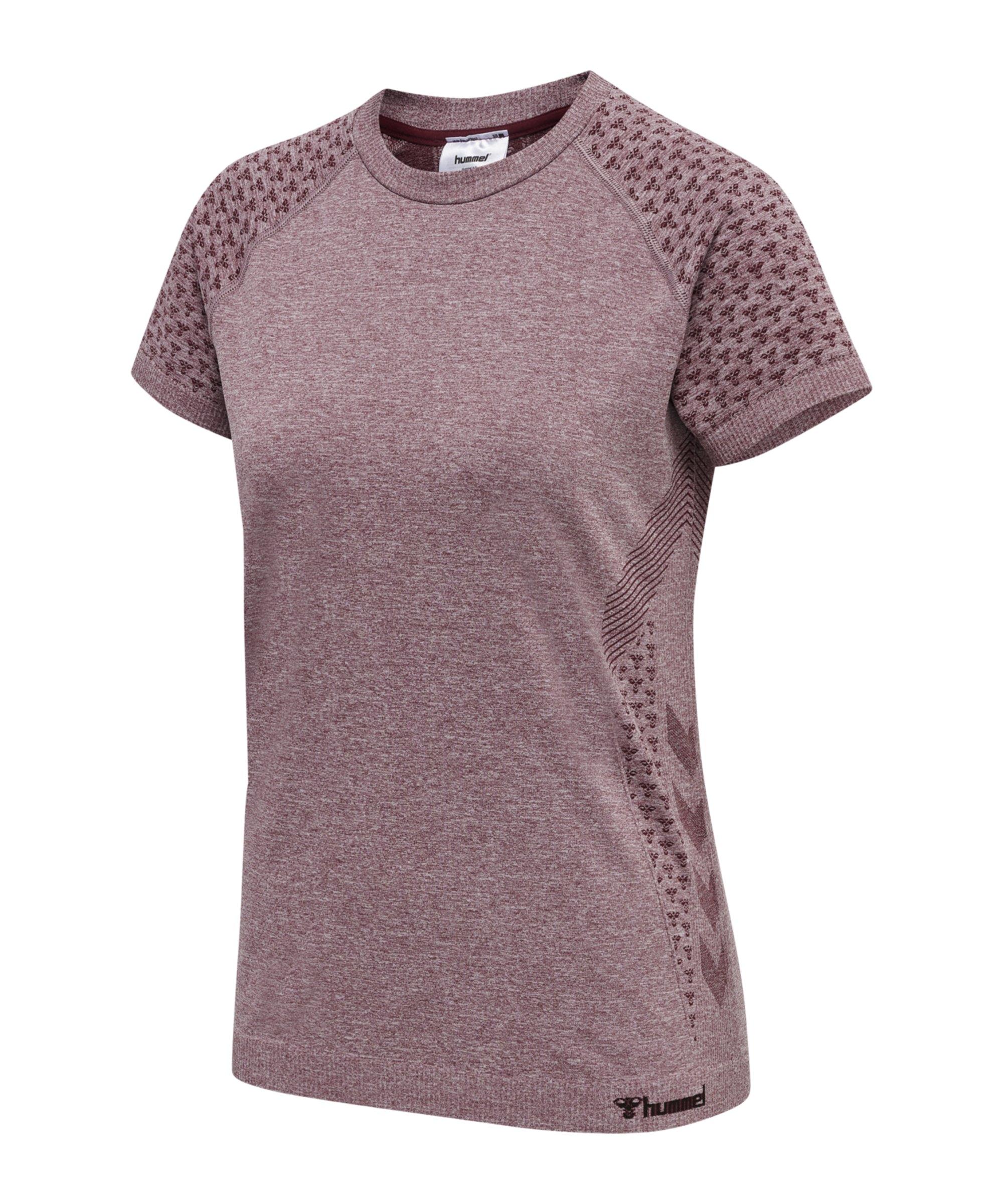 Hummel hmlci Seamless T-Shirt Damen F4770 - rosa