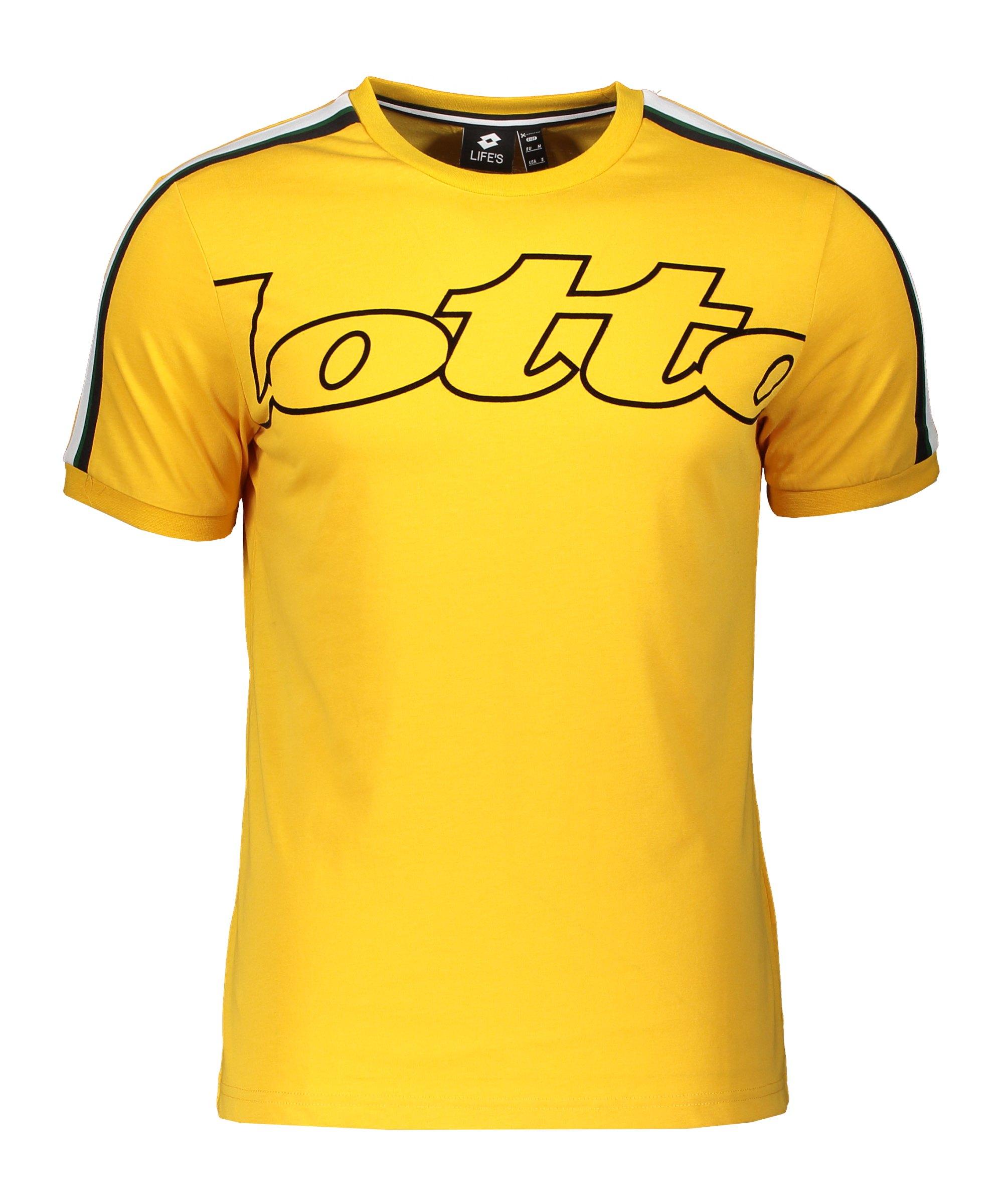 Lotto Athletica II Stp Tee T-Shirt Gelb F1EX - gelb