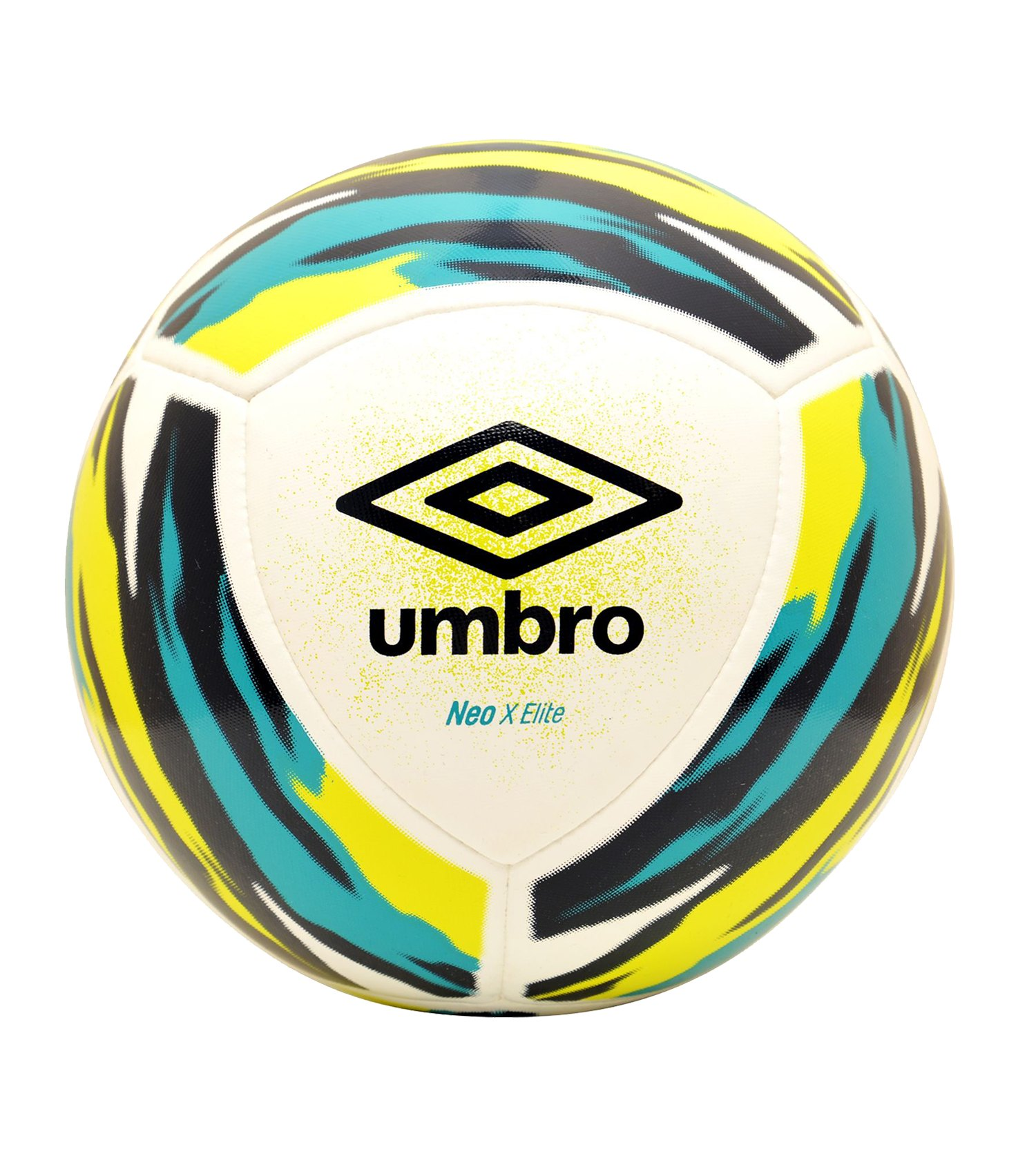 Umbro Neo X Elite Spielball Weiss Blau FJPA - weiss