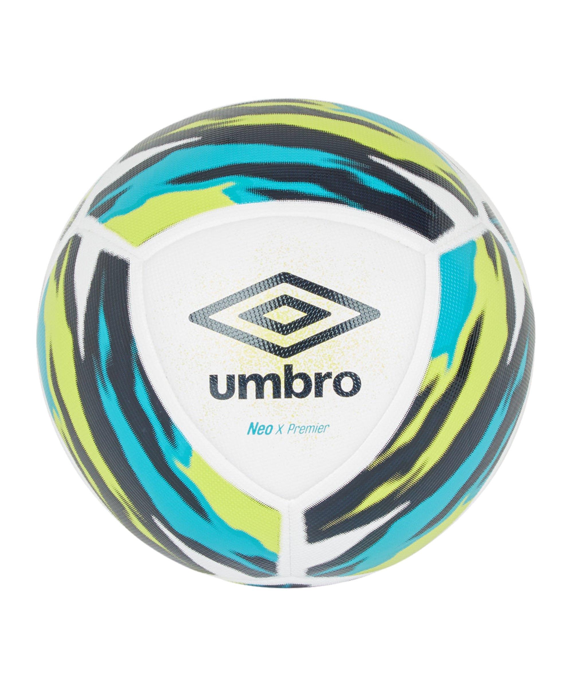 Umbro Neo X Premier Trainingsball Weiss Blau FJPA - weiss