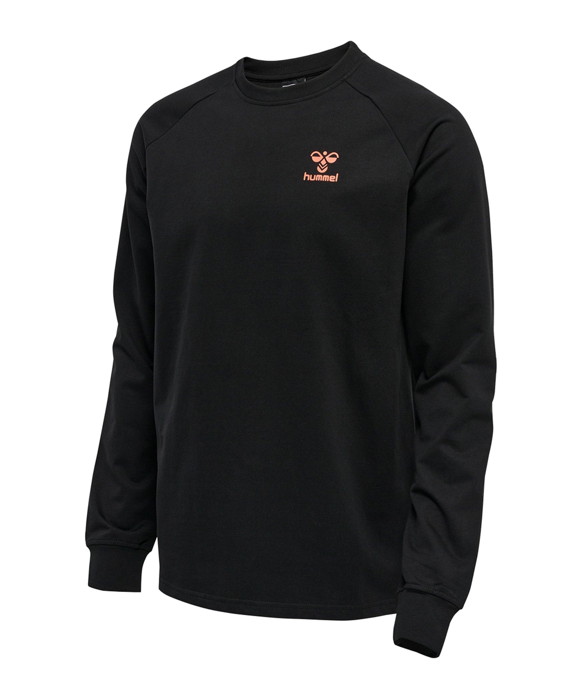 Hummel hmlACTION Sweatshirt Schwarz F2345 - schwarz