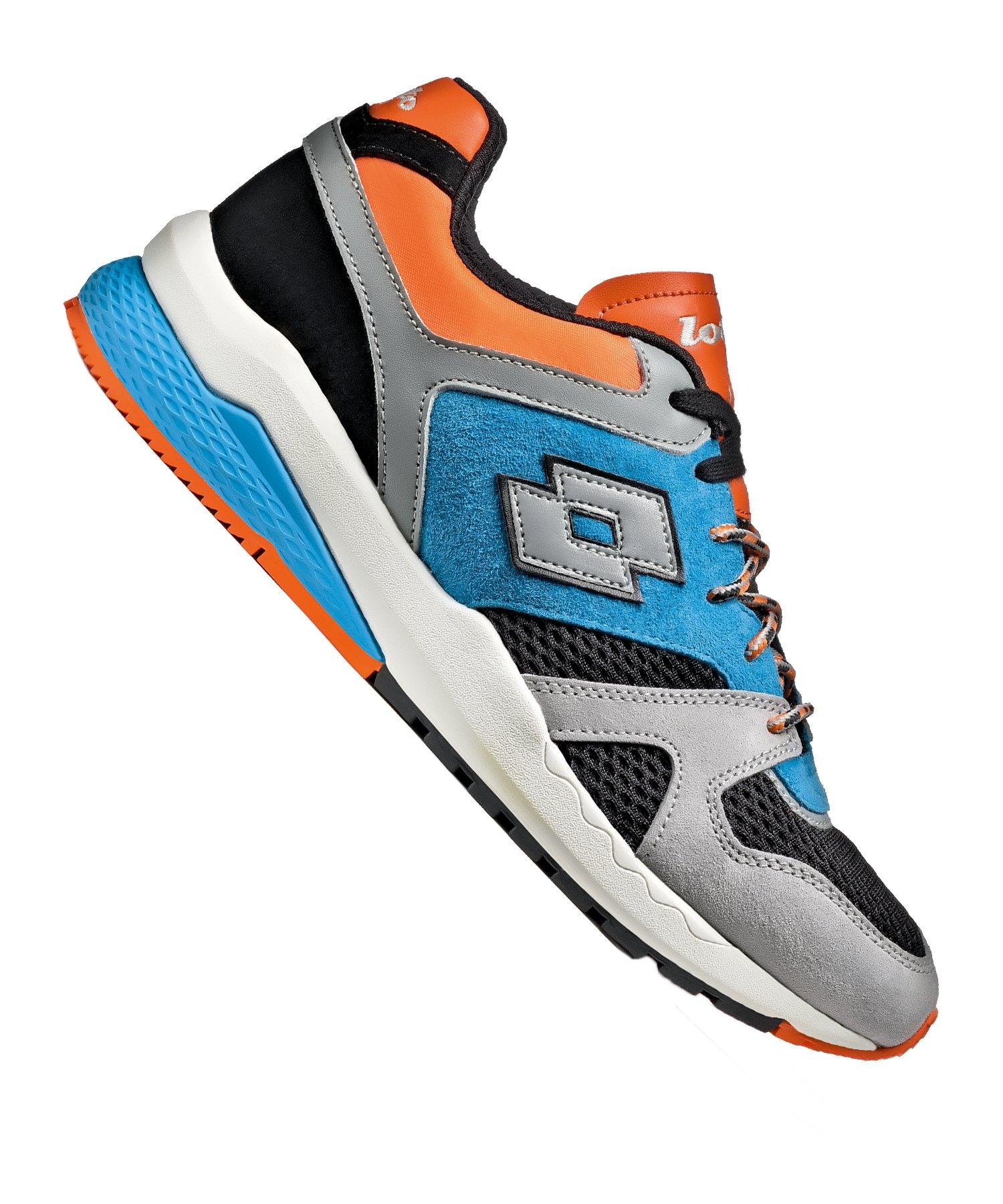 Lotto Marathon Block Sneaker Grau F1YD - mehrfarbig
