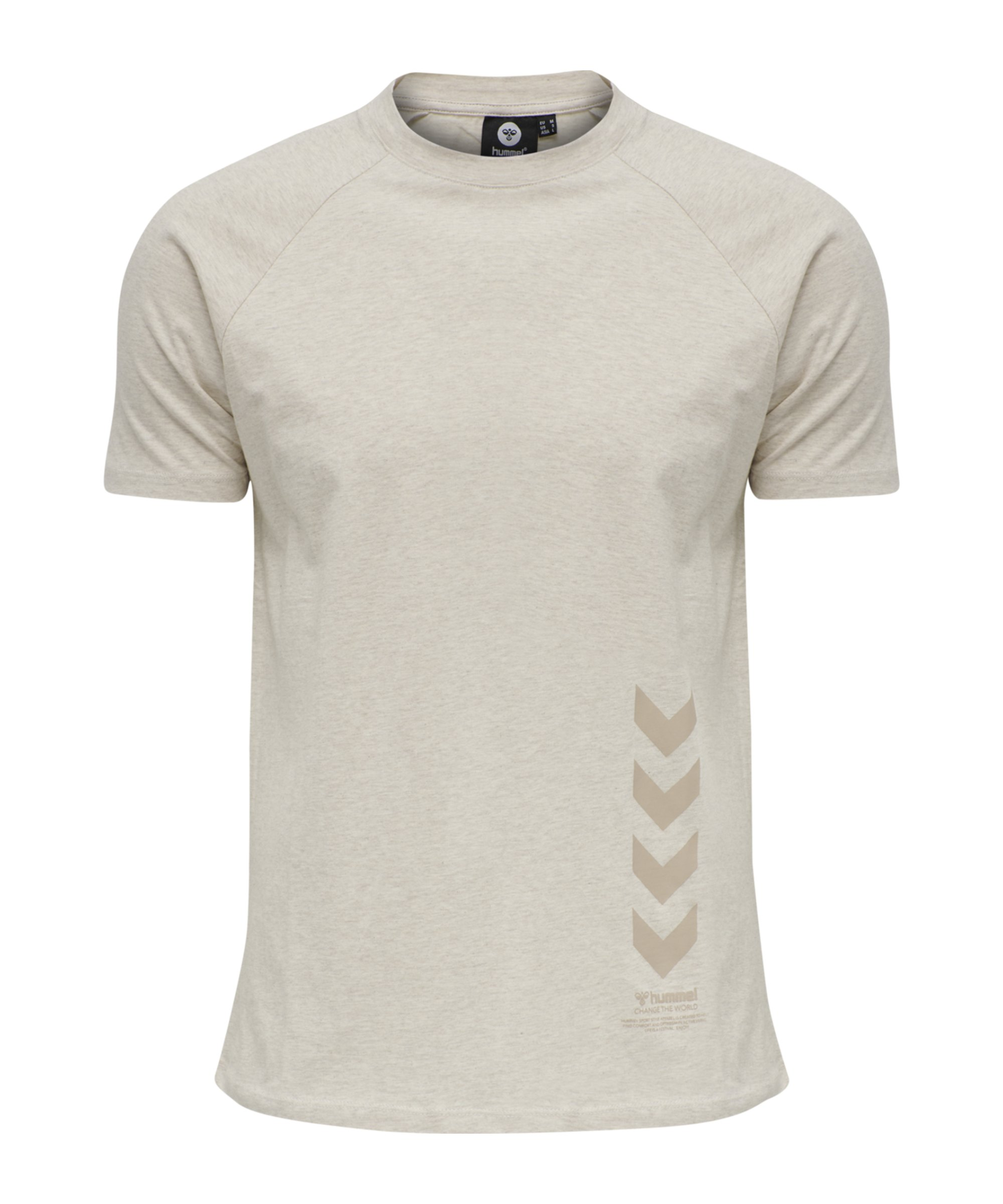 Hummel Caleb T-Shirt Beige F9081 - beige