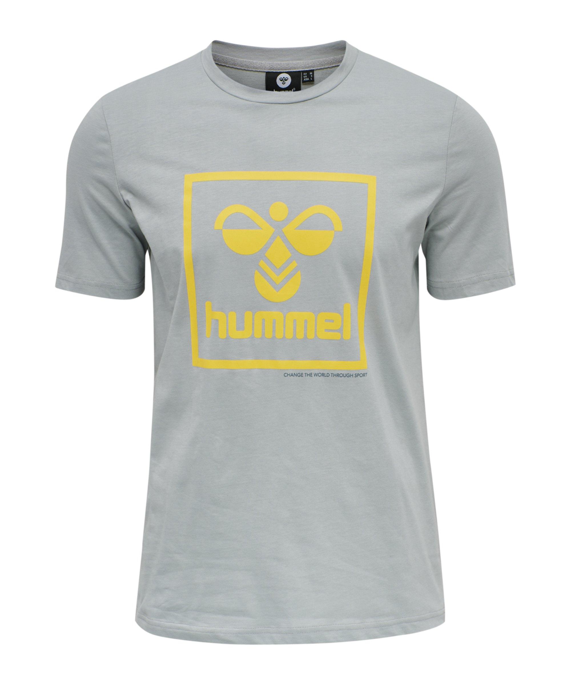 Hummel Isam T-Shirt Grau F1968 - grau