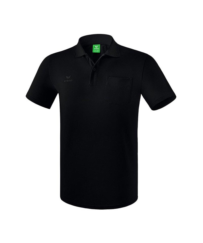 Erima Casual Basics Poloshirt Schwarz - schwarz
