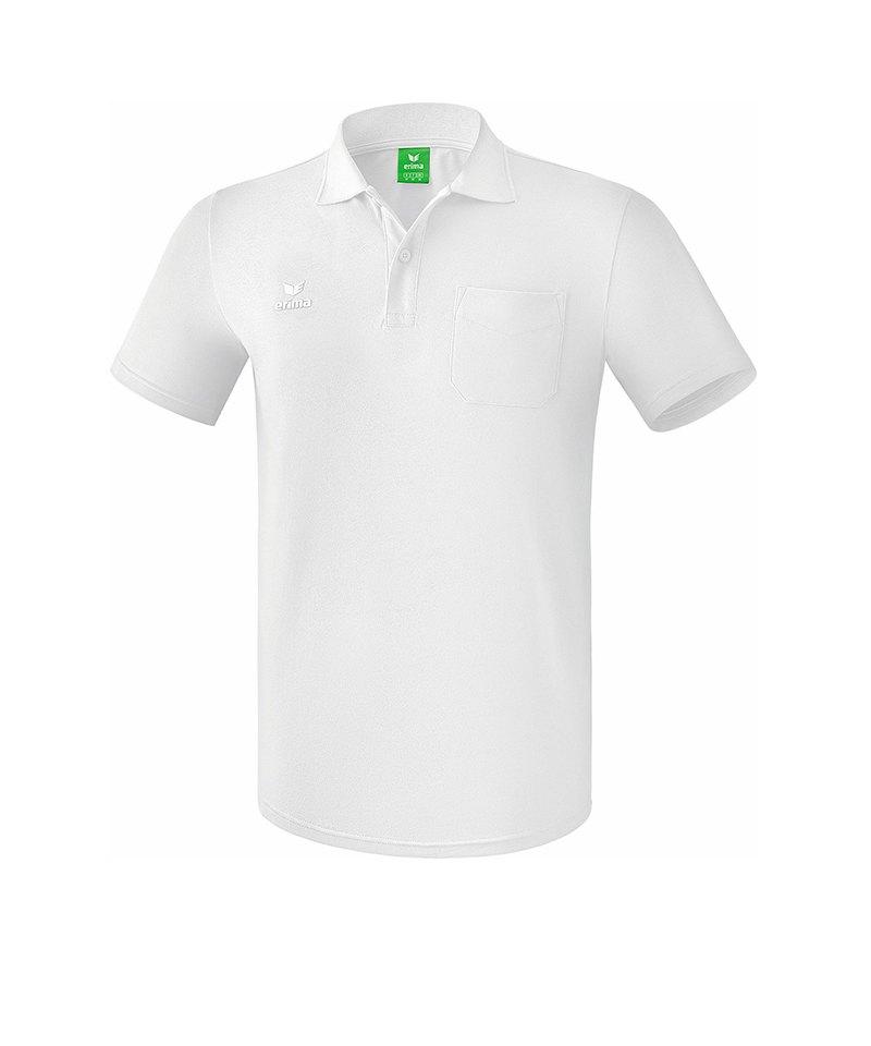Erima Casual Basics Poloshirt Weiss - weiss