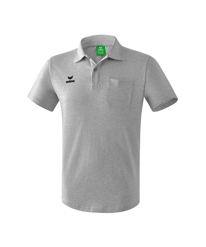 Erima Casual Basics Poloshirt Grau - grau