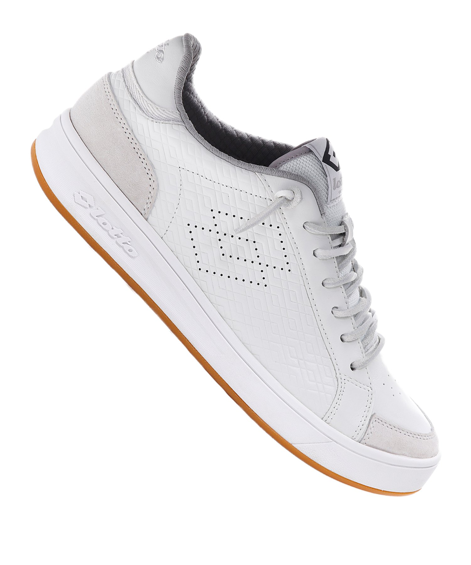 Lotto Pro Signature Embossed Sneaker Weiss F010 - weiss