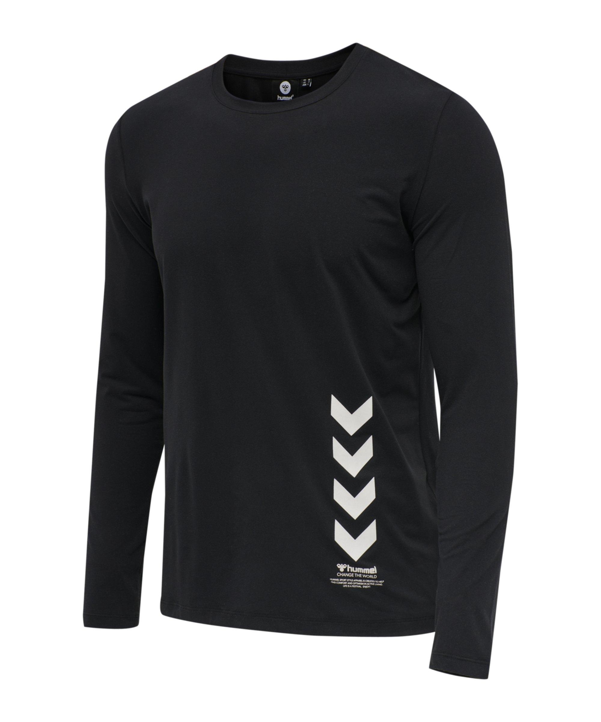 Hummel Virgil Sweatshirt Schwarz F2001 - schwarz