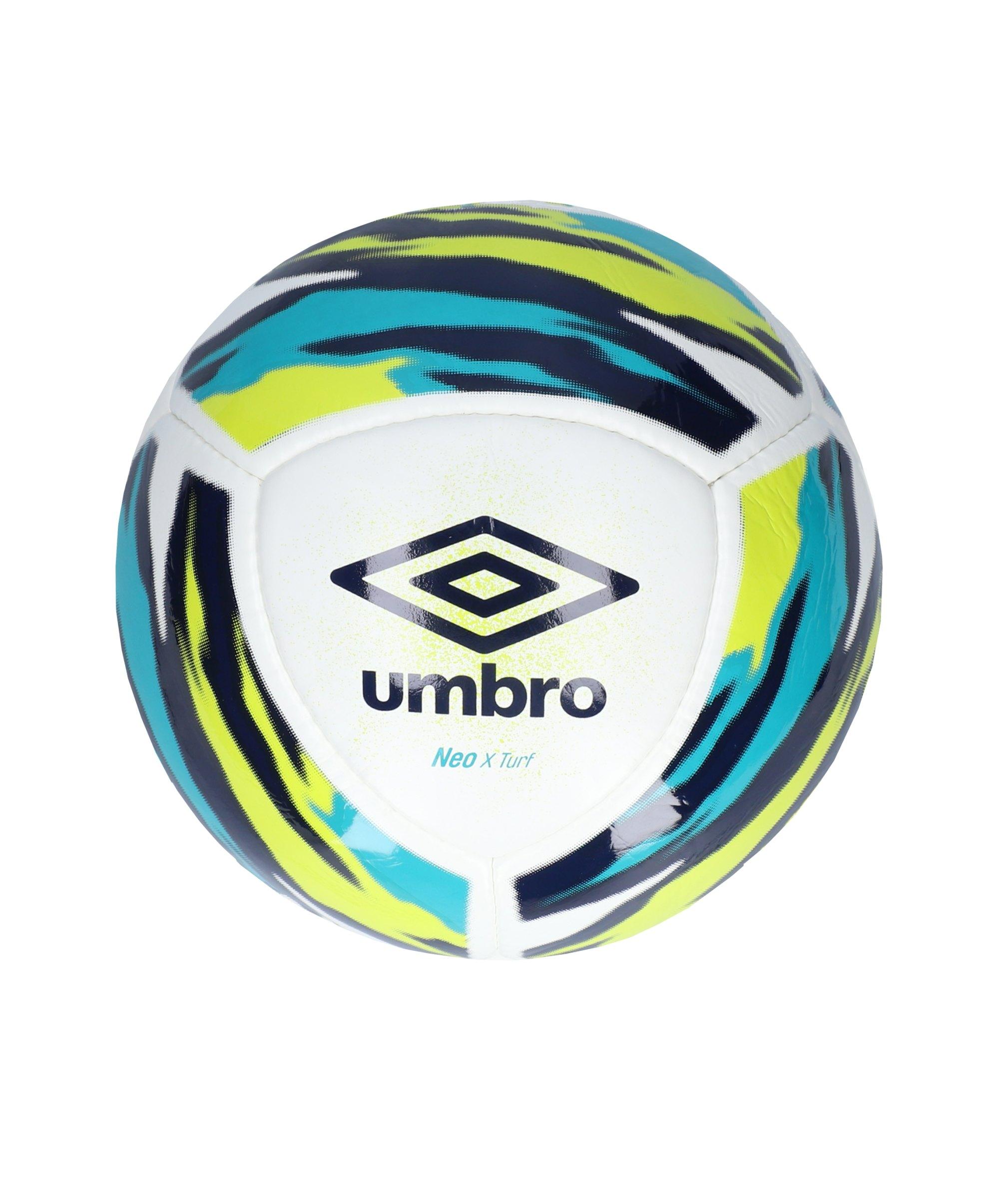 Umbro Neo X Truf Spielball Weiss Blau FJPA - weiss