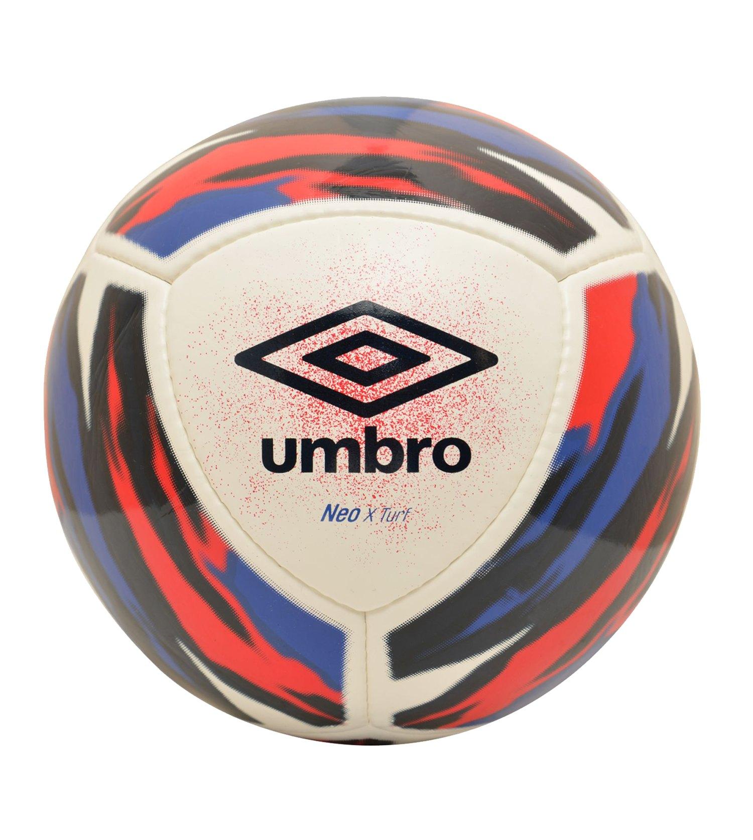 Umbro Neo X Truf Spielball Weiss Blau FJPX - weiss