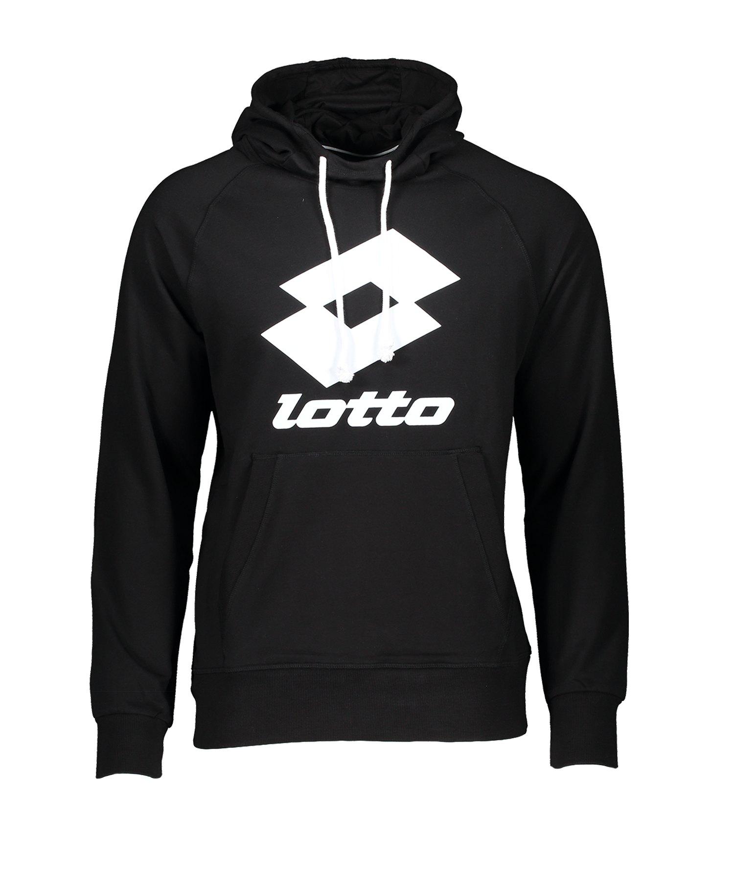 Lotto Smart Kapuzensweatshirt HD Schwarz F1CF - schwarz