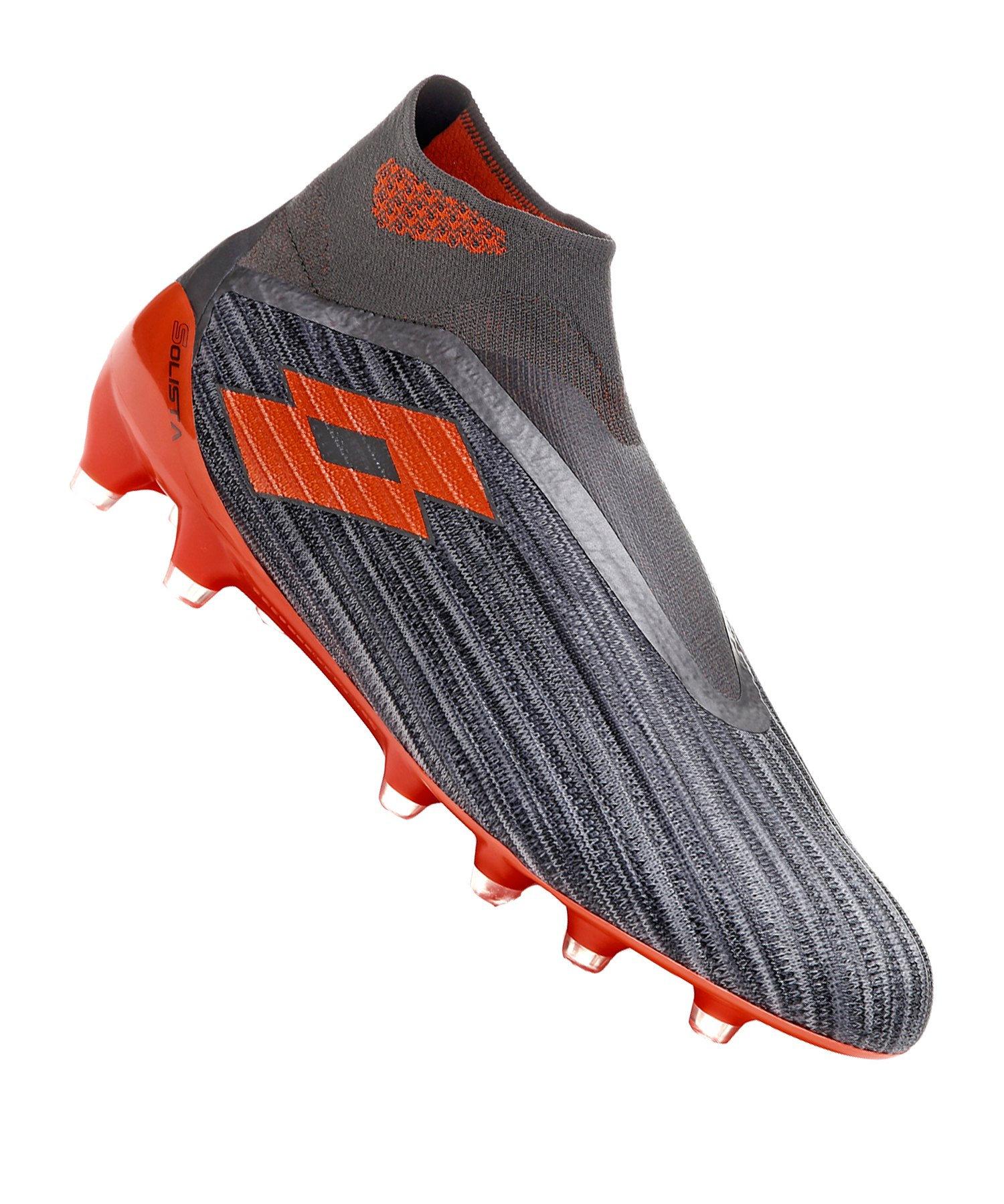 Lotto Solista 100 III Gravity FG Grau Orange F5JK - grau