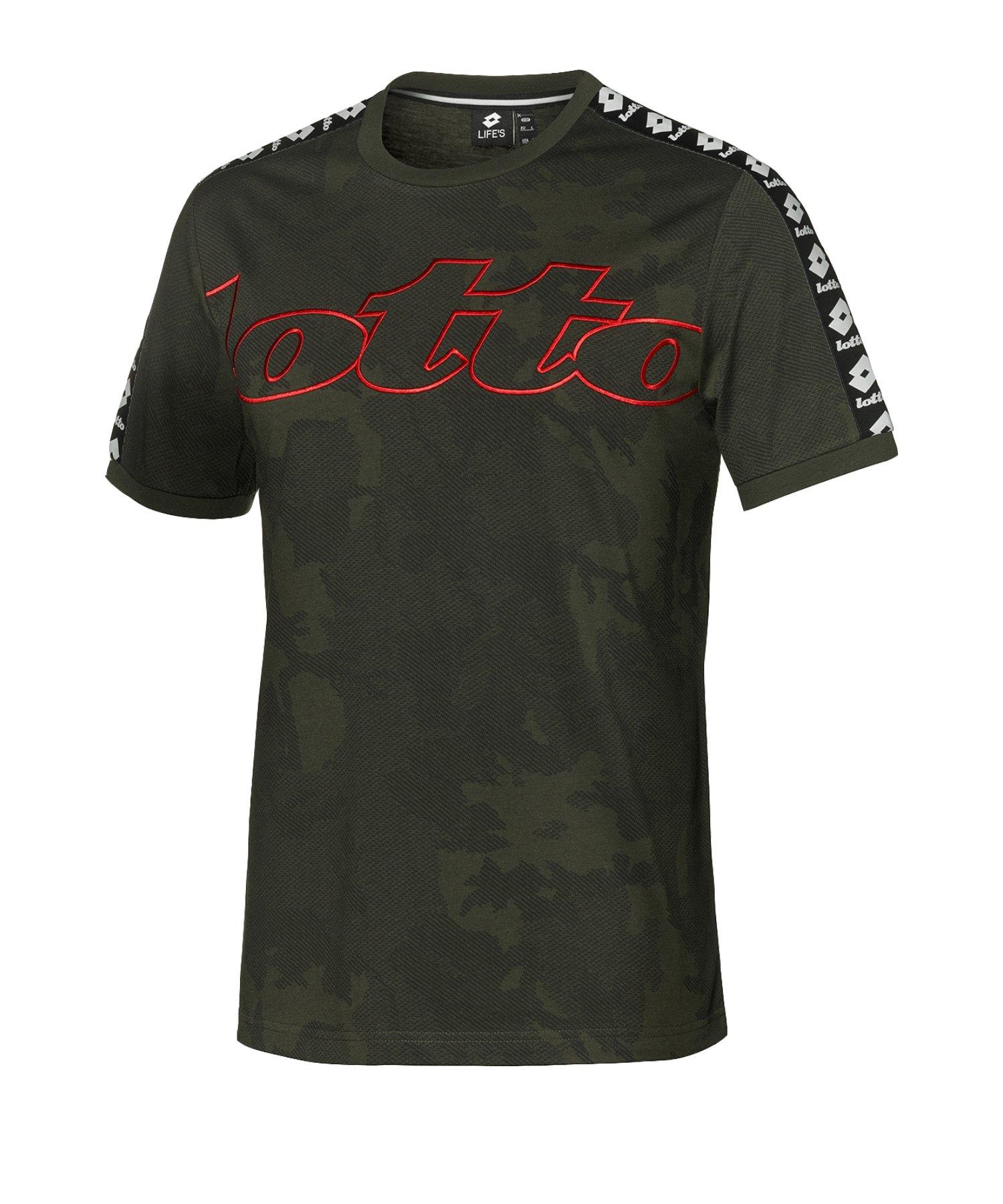 Lotto Athletica III Tee T-Shirt Grün F26O - gruen