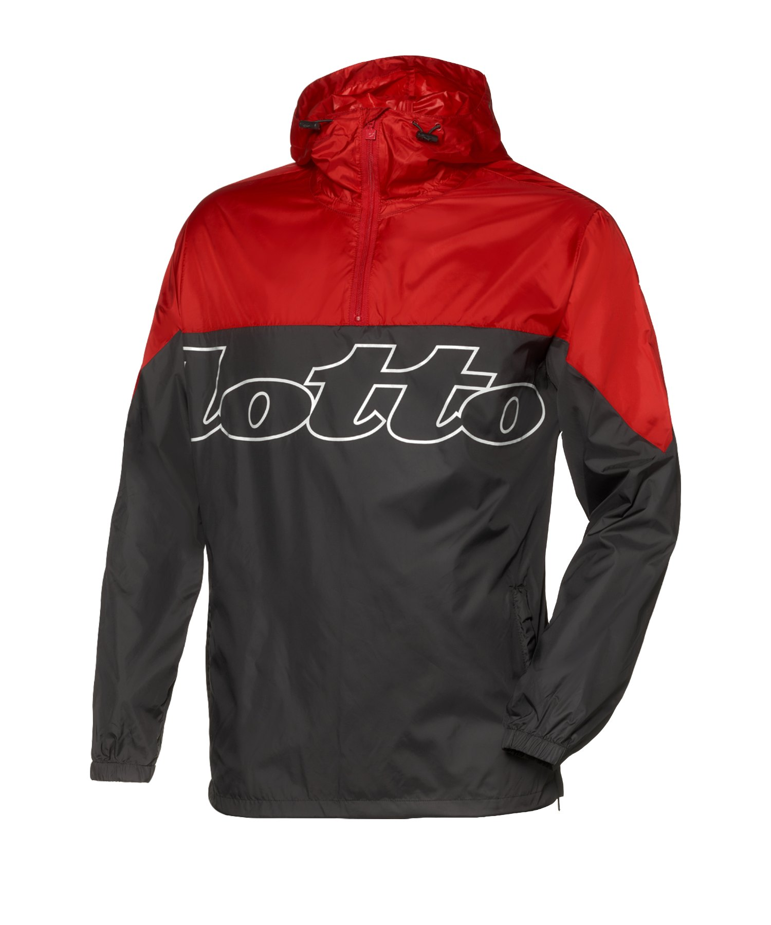 Lotto Athletica III Woven Kapuzensweatjacke F2DN - schwarz