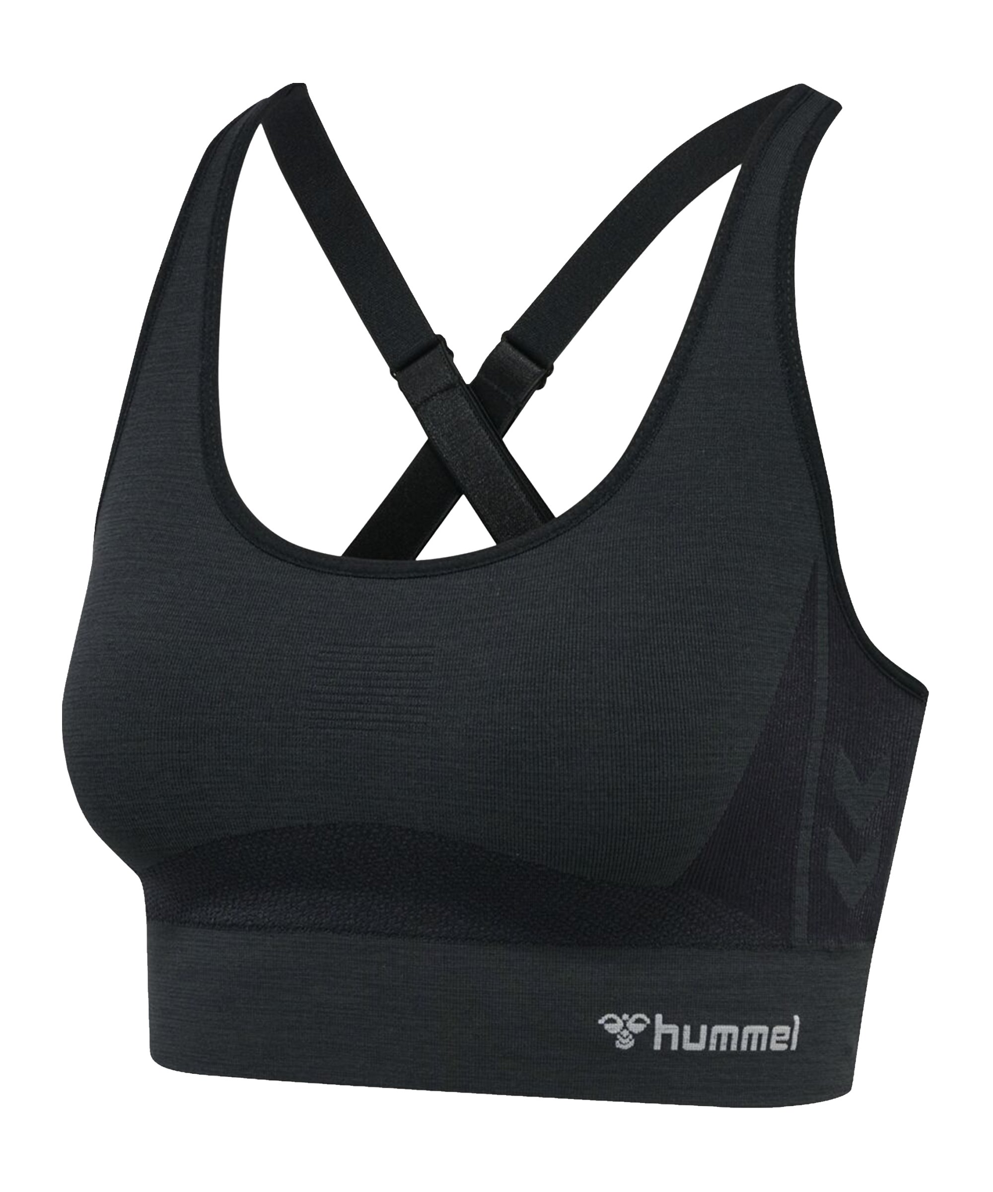 Hummel hmlcea Seamless Sports Top Damen F2508 - schwarz