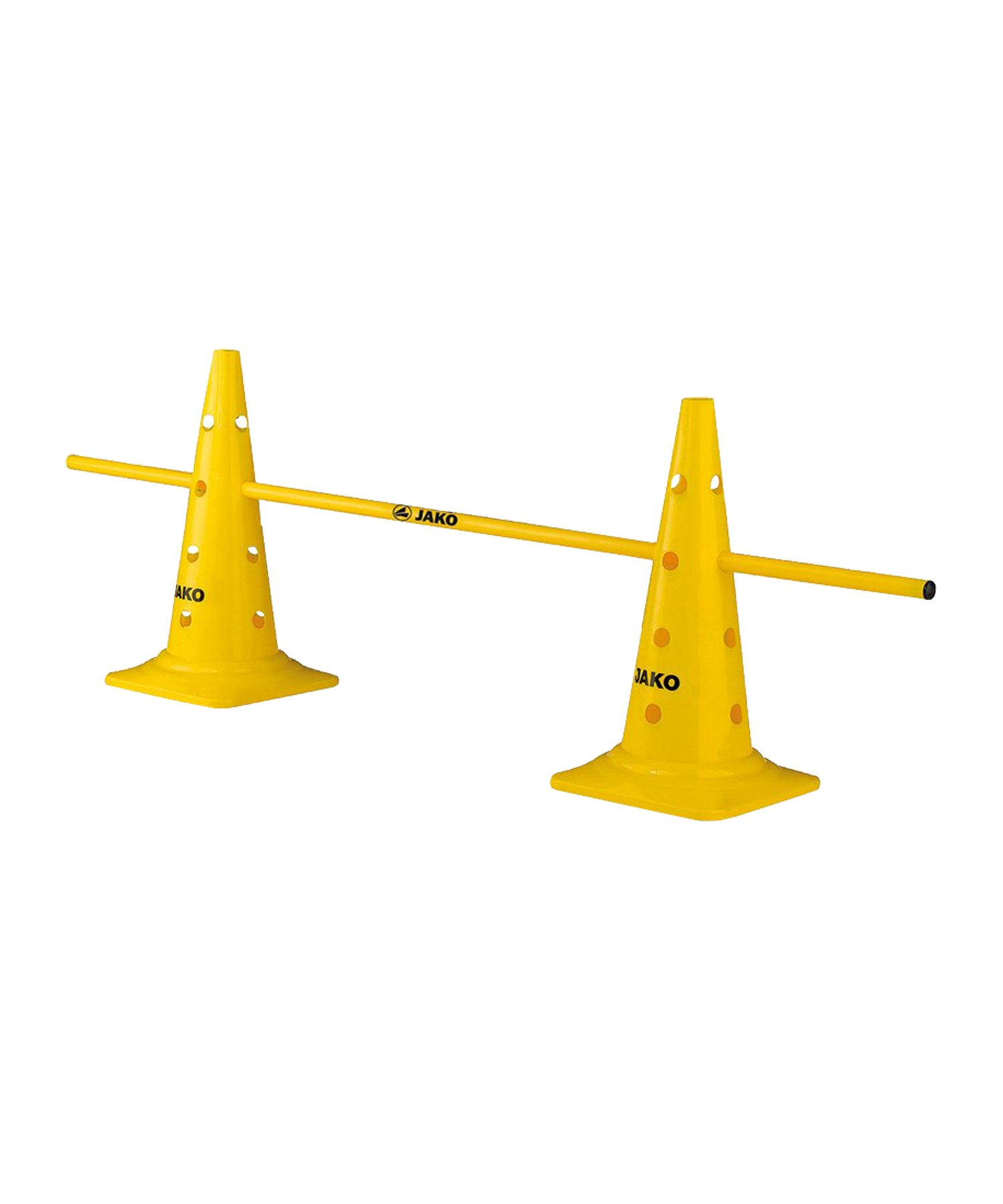 Jako Hütchen-Set mit Stange 50cm - gelb