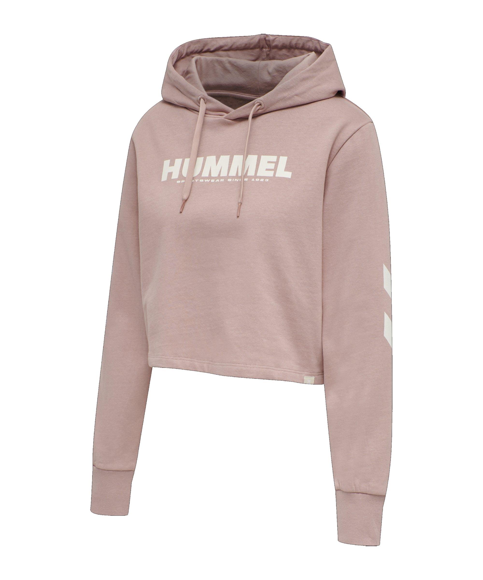 Hummel Legacy Cropped Hoody Damen Rosa F4852 - rosa