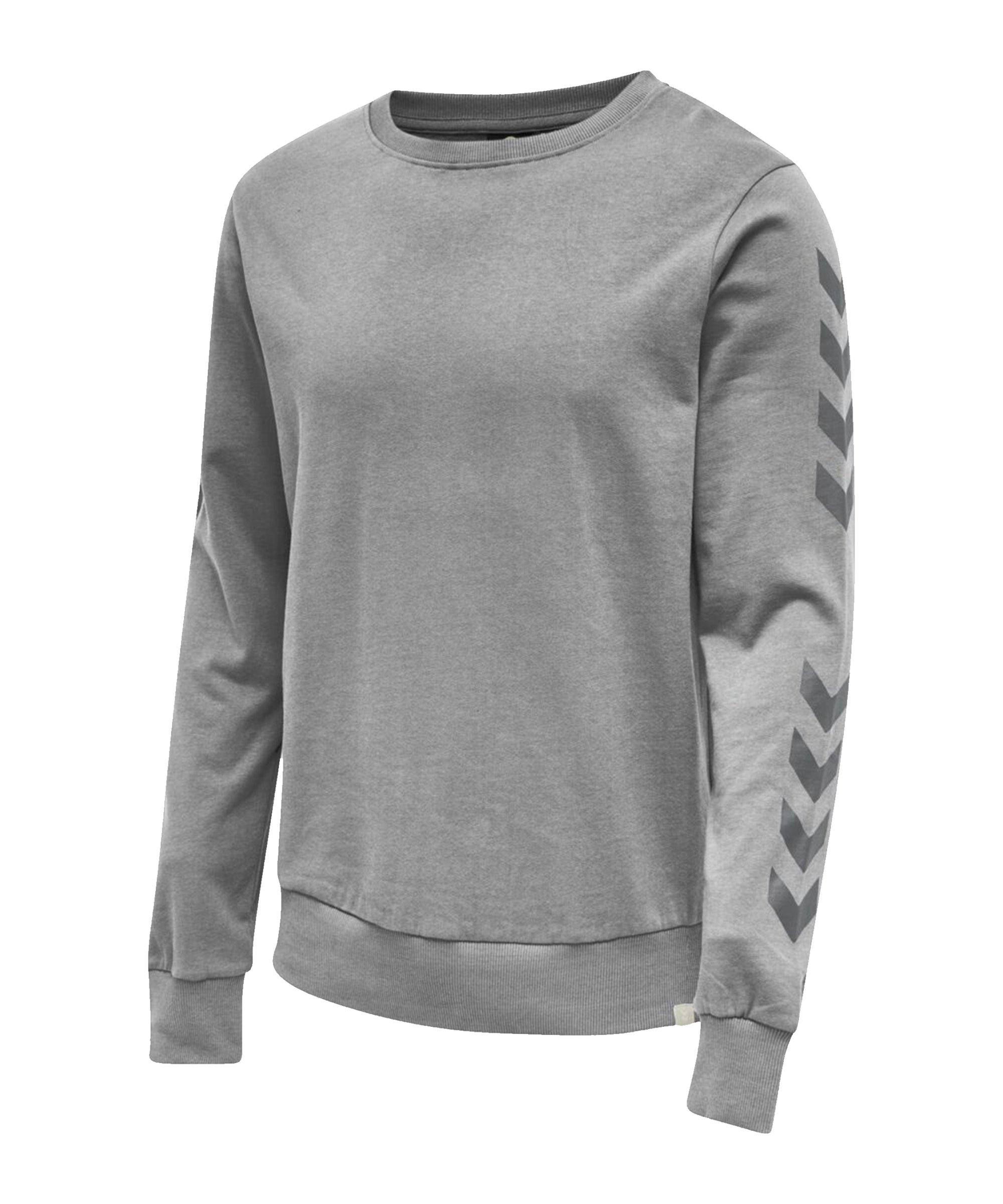 Hummel Legacy Chevron Sweatshirt Grau F2006 - grau