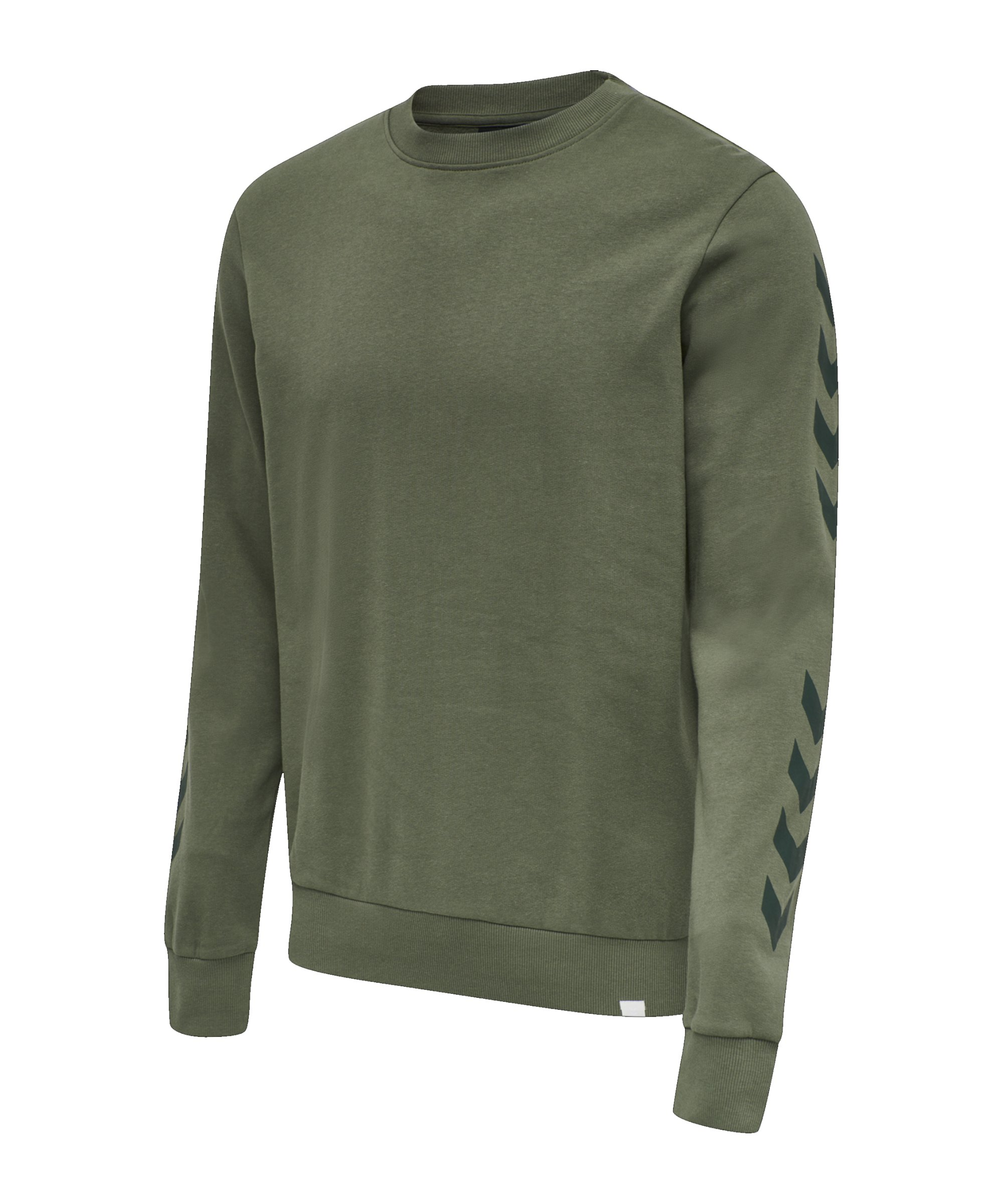 Hummel Legacy Chevron Sweatshirt Grün F6012 - khaki