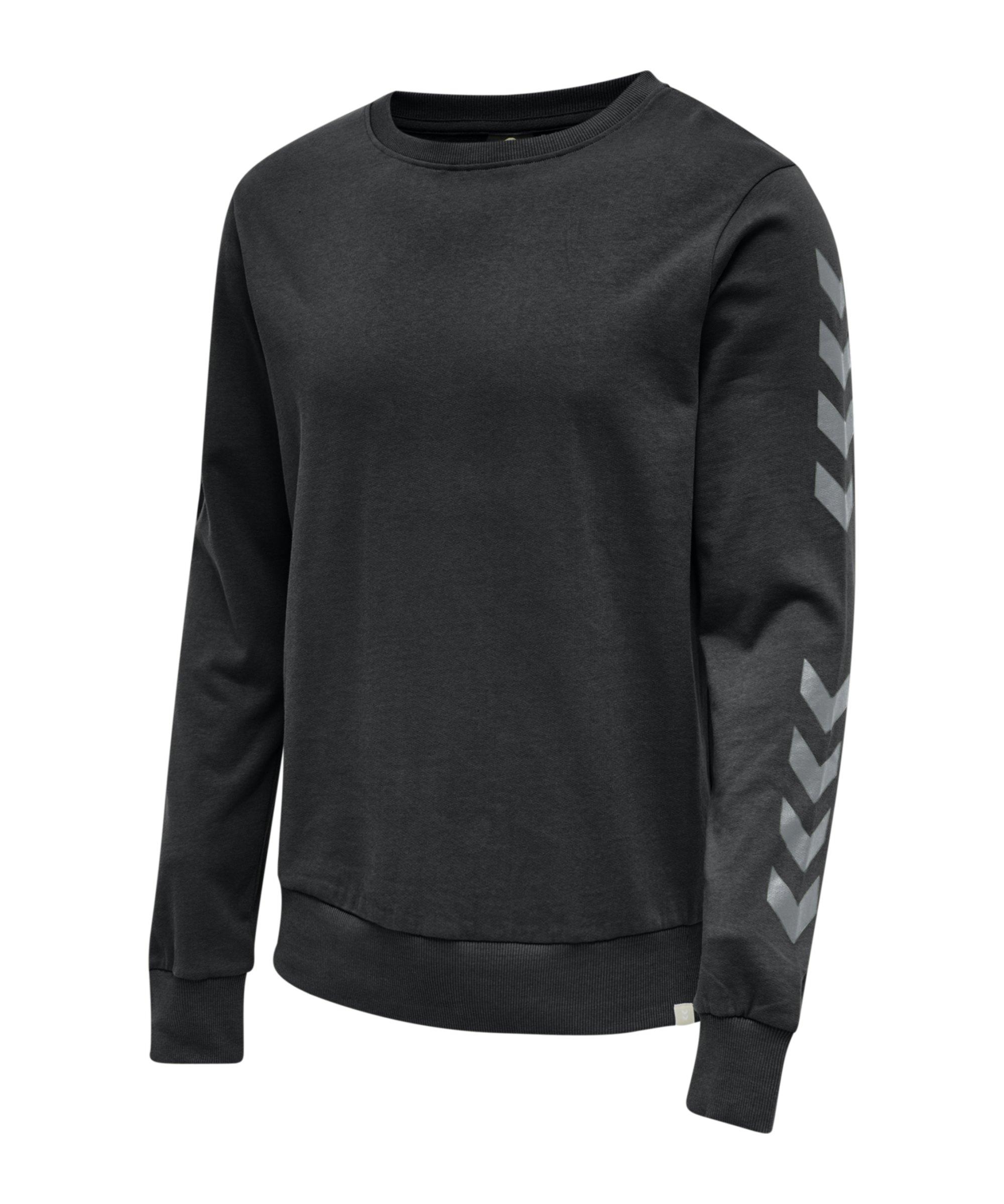 Hummel Legacy Chevron Sweatshirt Schwarz F2001 - schwarz