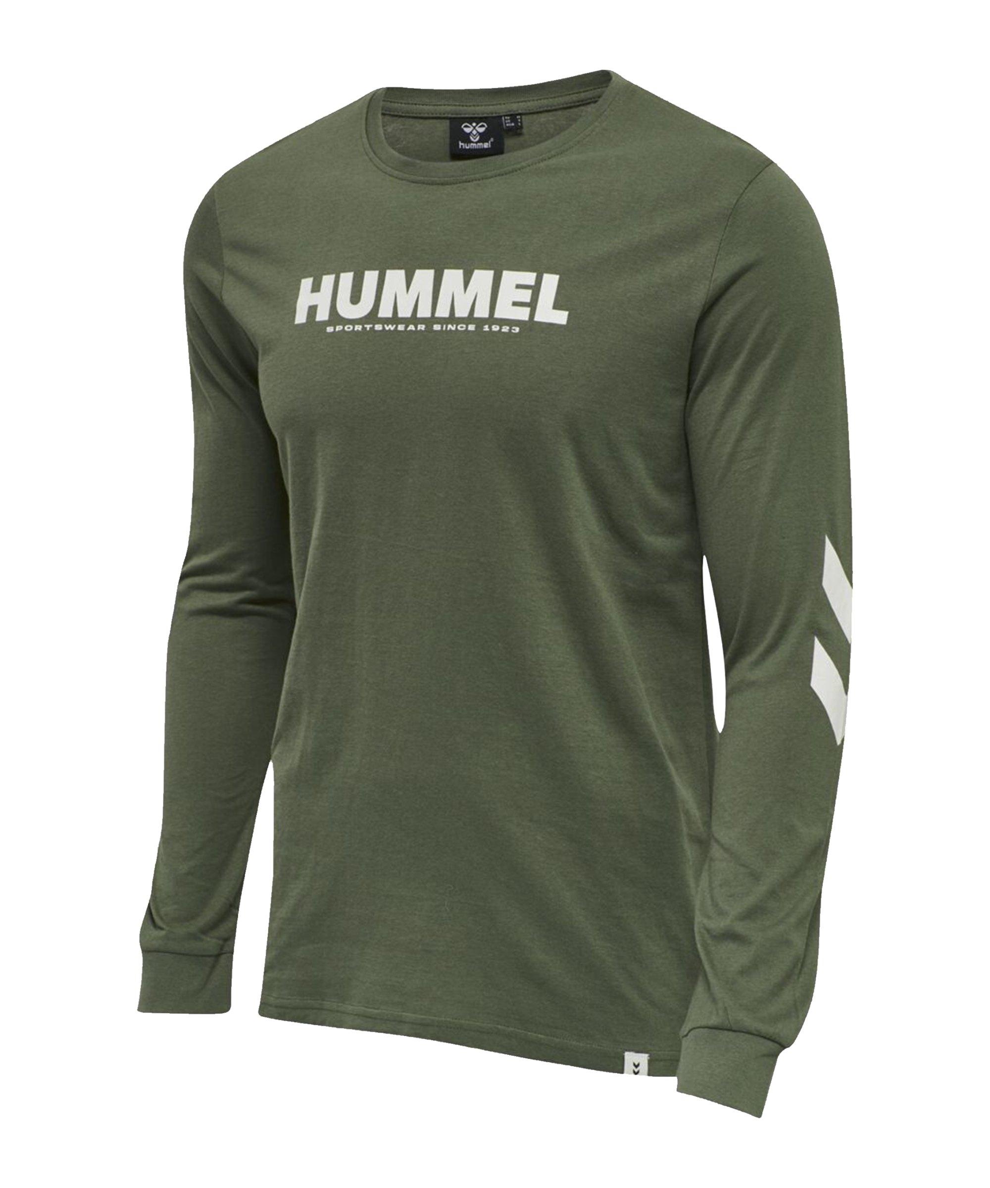 Hummel Legacy Sweatshirt Grün F6012 - khaki