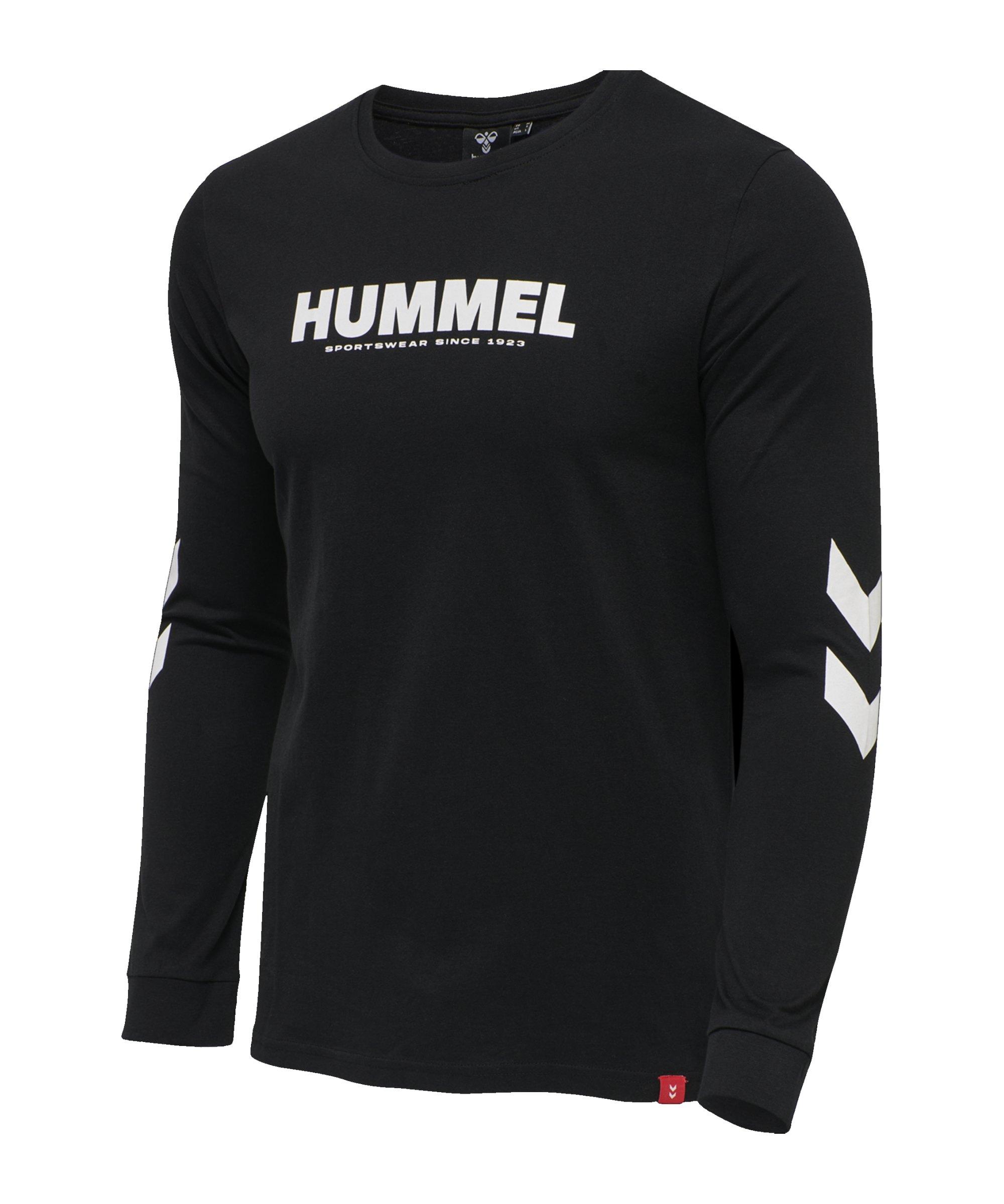Hummel Legacy Sweatshirt Schwarz F2001 - schwarz