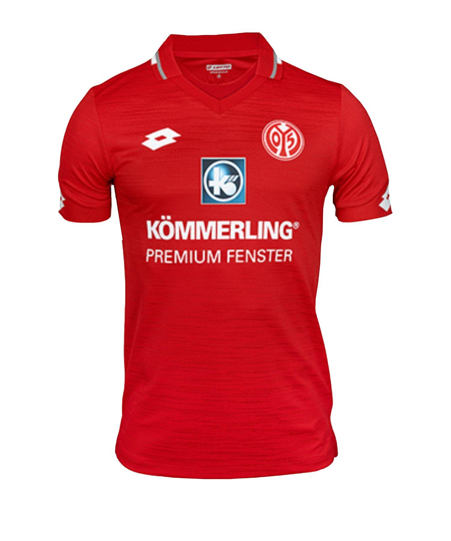 Lotto 1. FSV Mainz 05 Trikot Home 2019/2020 Kids Rot - rot