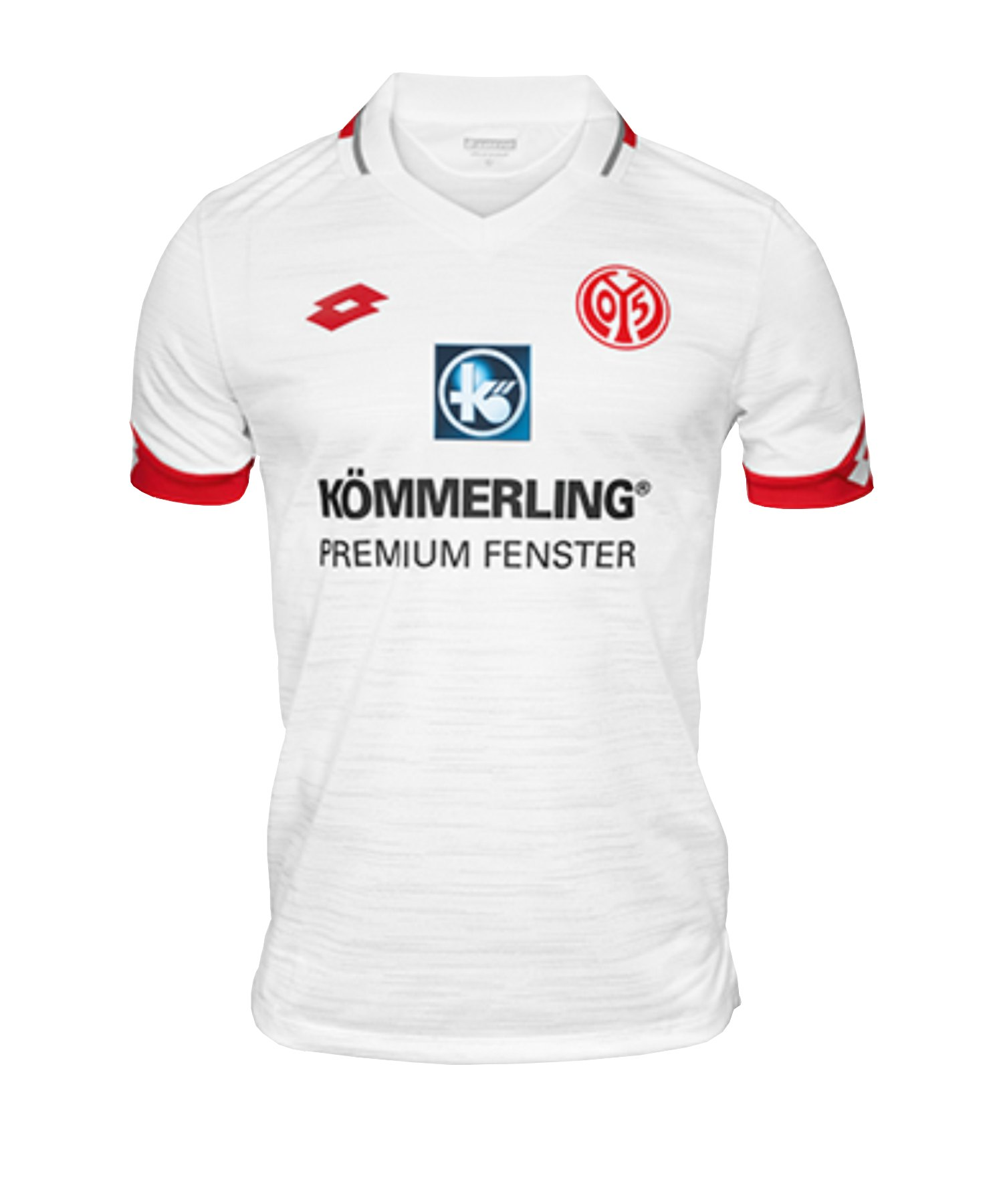Lotto 1. FSV Mainz 05 Trikot Away 2019/2020 KidsWeiss - weiss